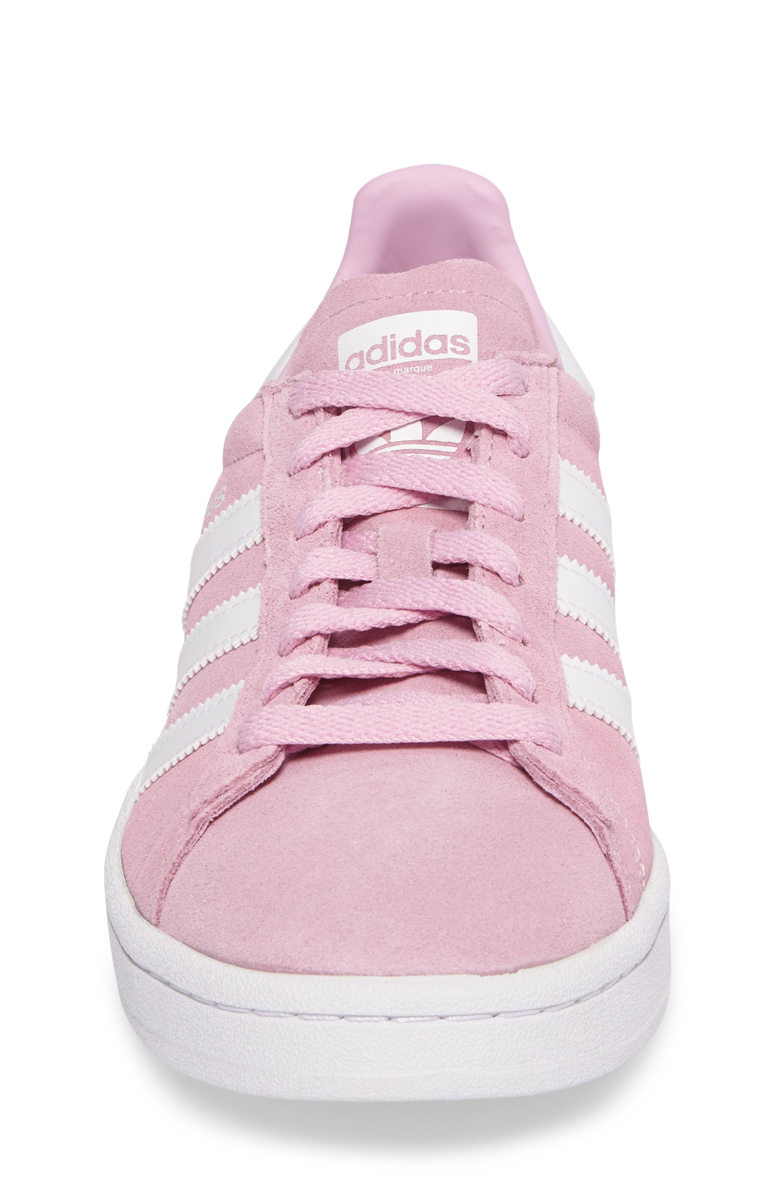 Alternate Image 4  - adidas Campus Sneaker (Big Kid)