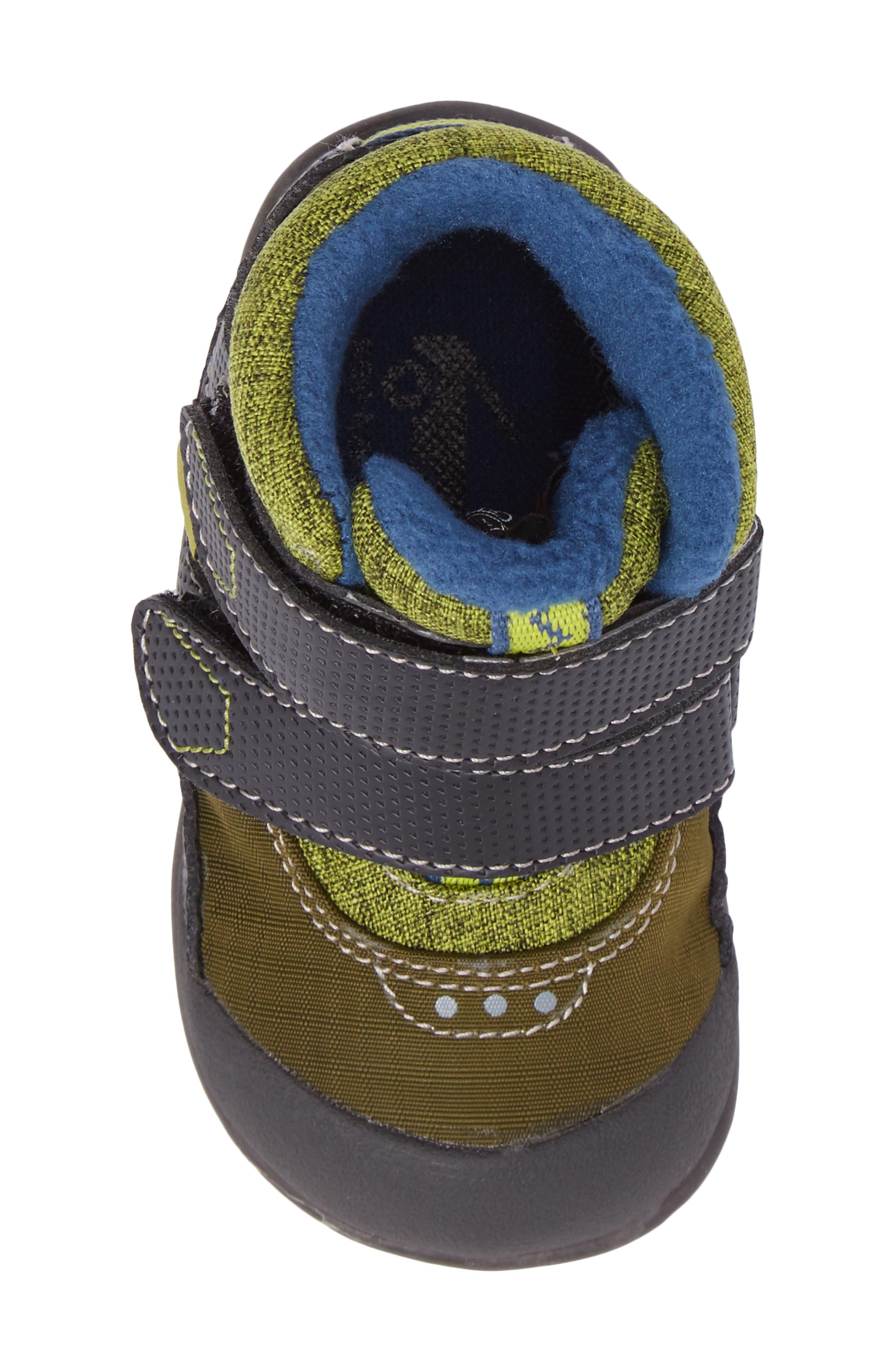 Atlas Waterproof Boot,                             Alternate thumbnail 5, color,                             Green