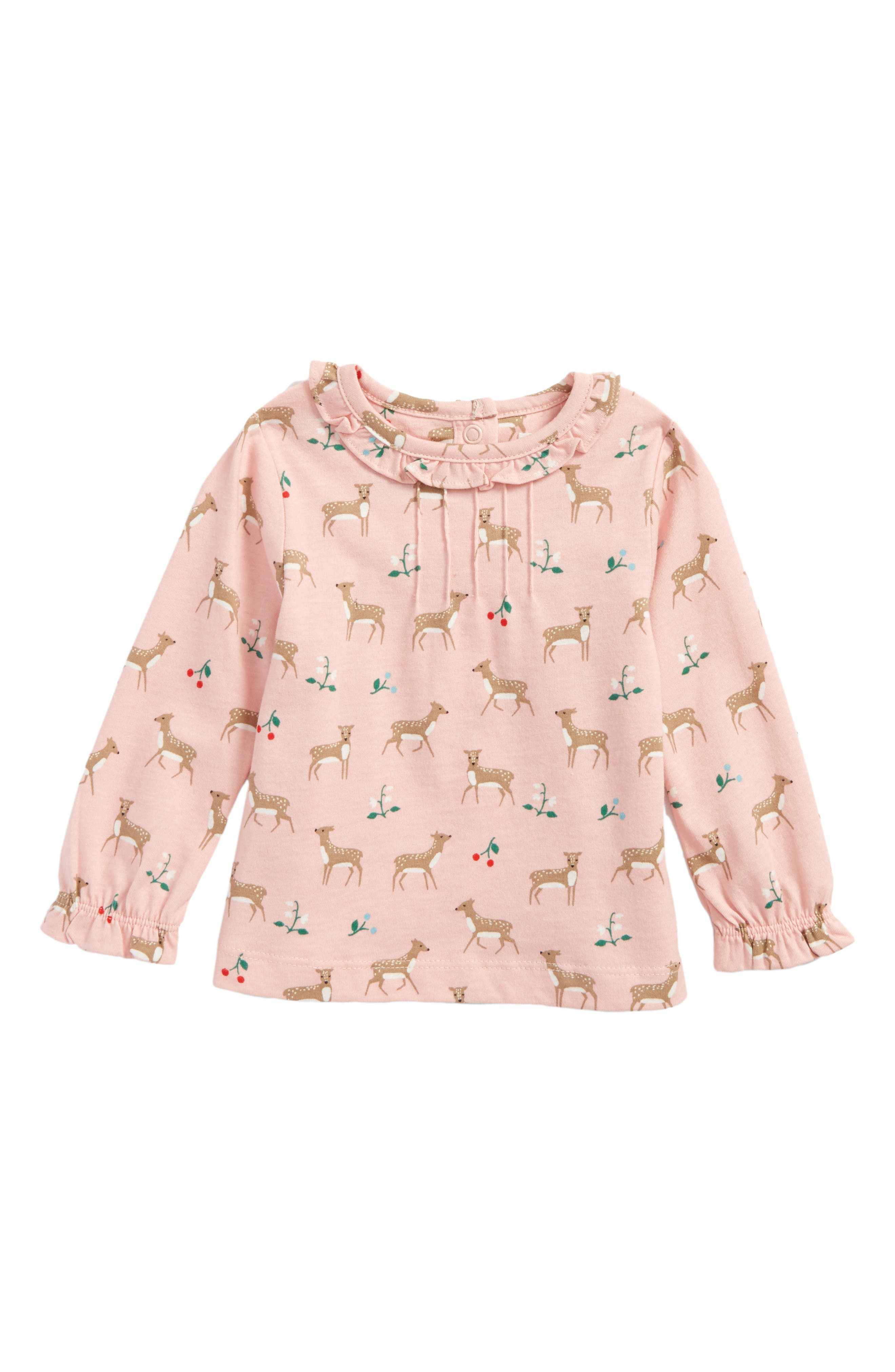 Pretty Tee,                             Main thumbnail 1, color,                             Provence Dusty Pink Baby Fawn
