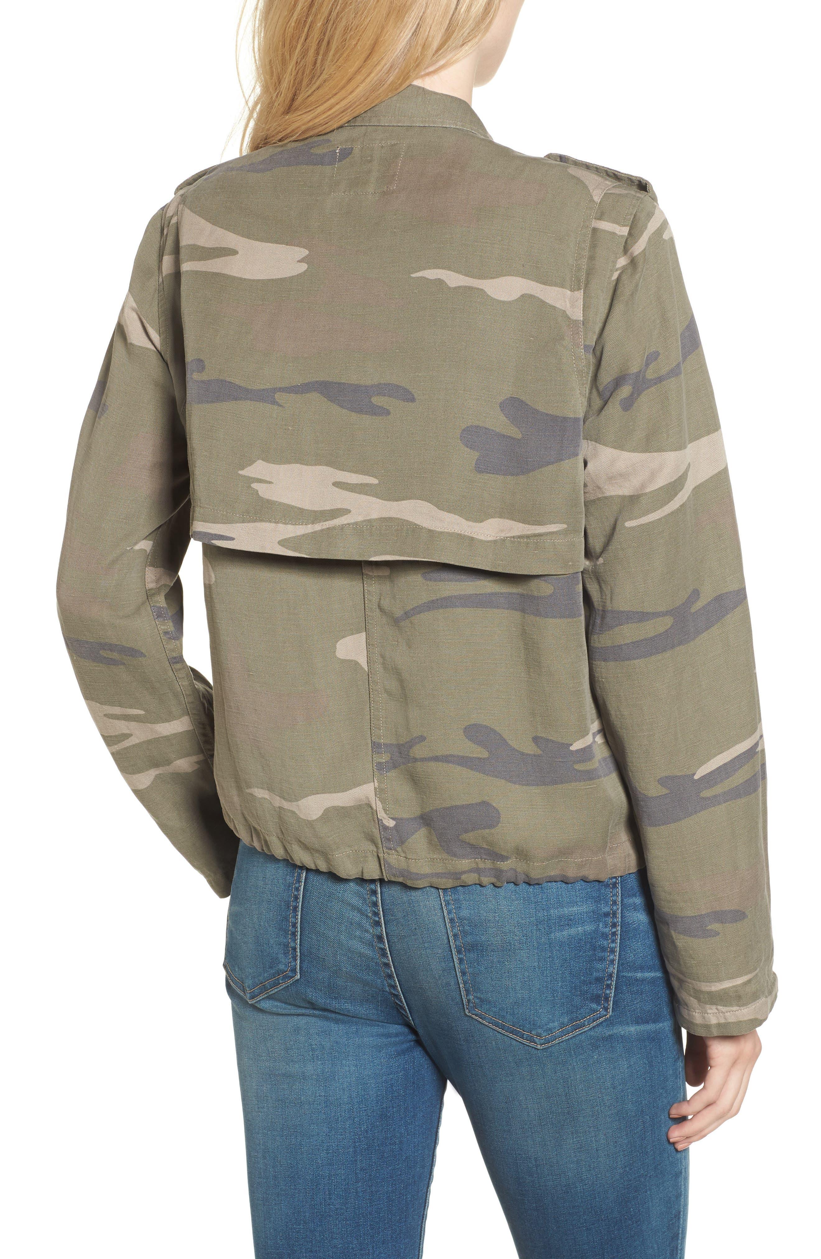 Maverick Camo Jacket,                             Alternate thumbnail 3, color,                             Sage Camo