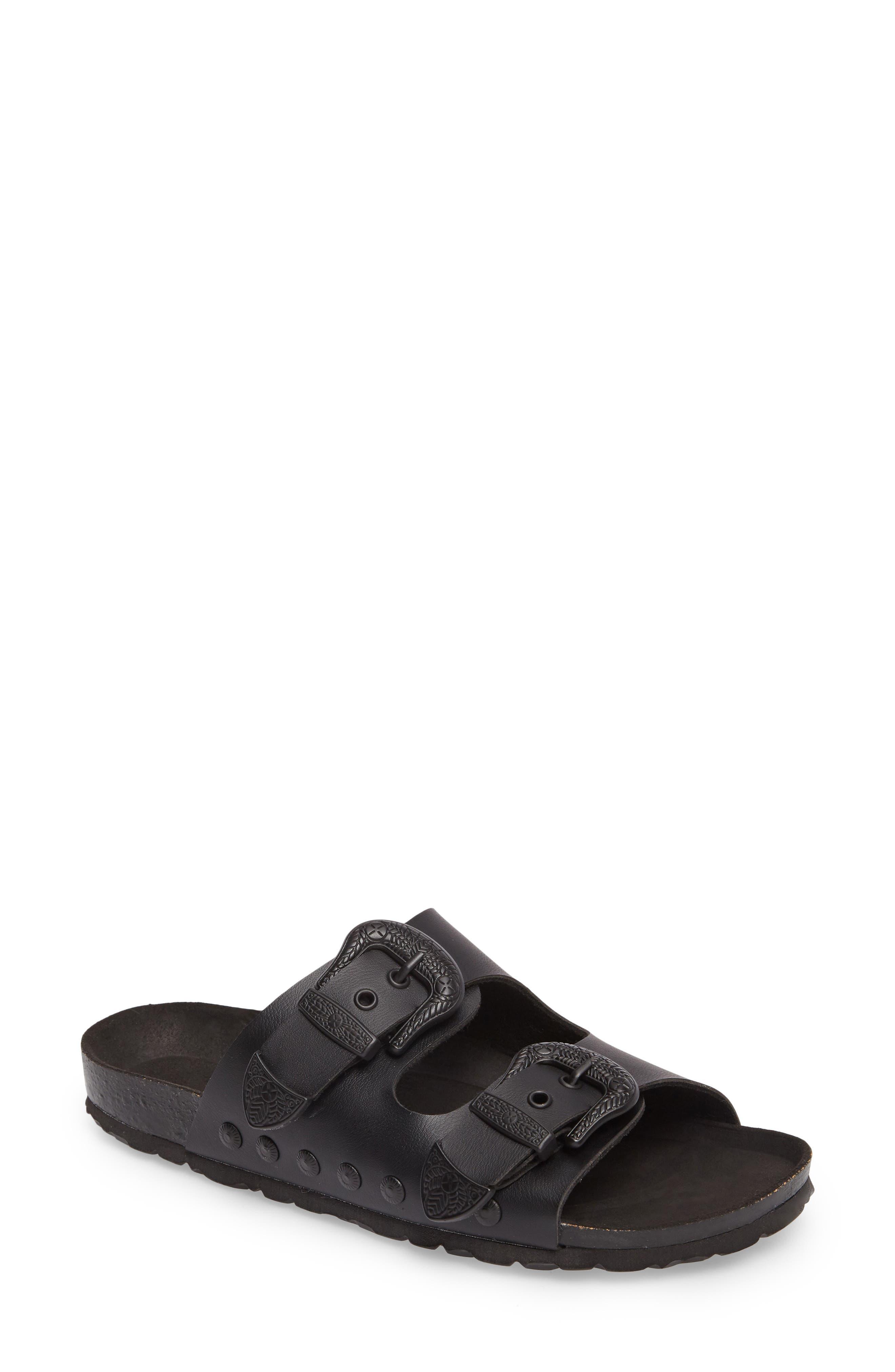 Main Image - Topshop Studded Slide Sandal (Women)
