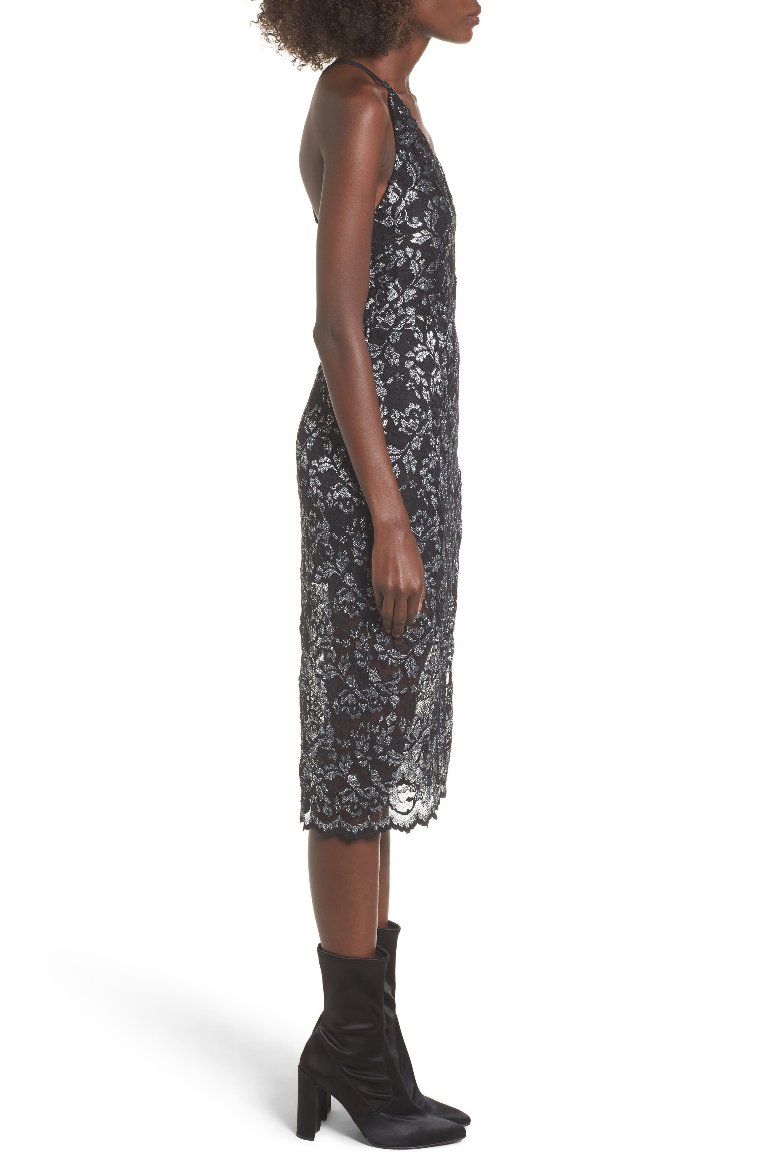 Alternate Image 3  - NBD Sitabella Lace Dress