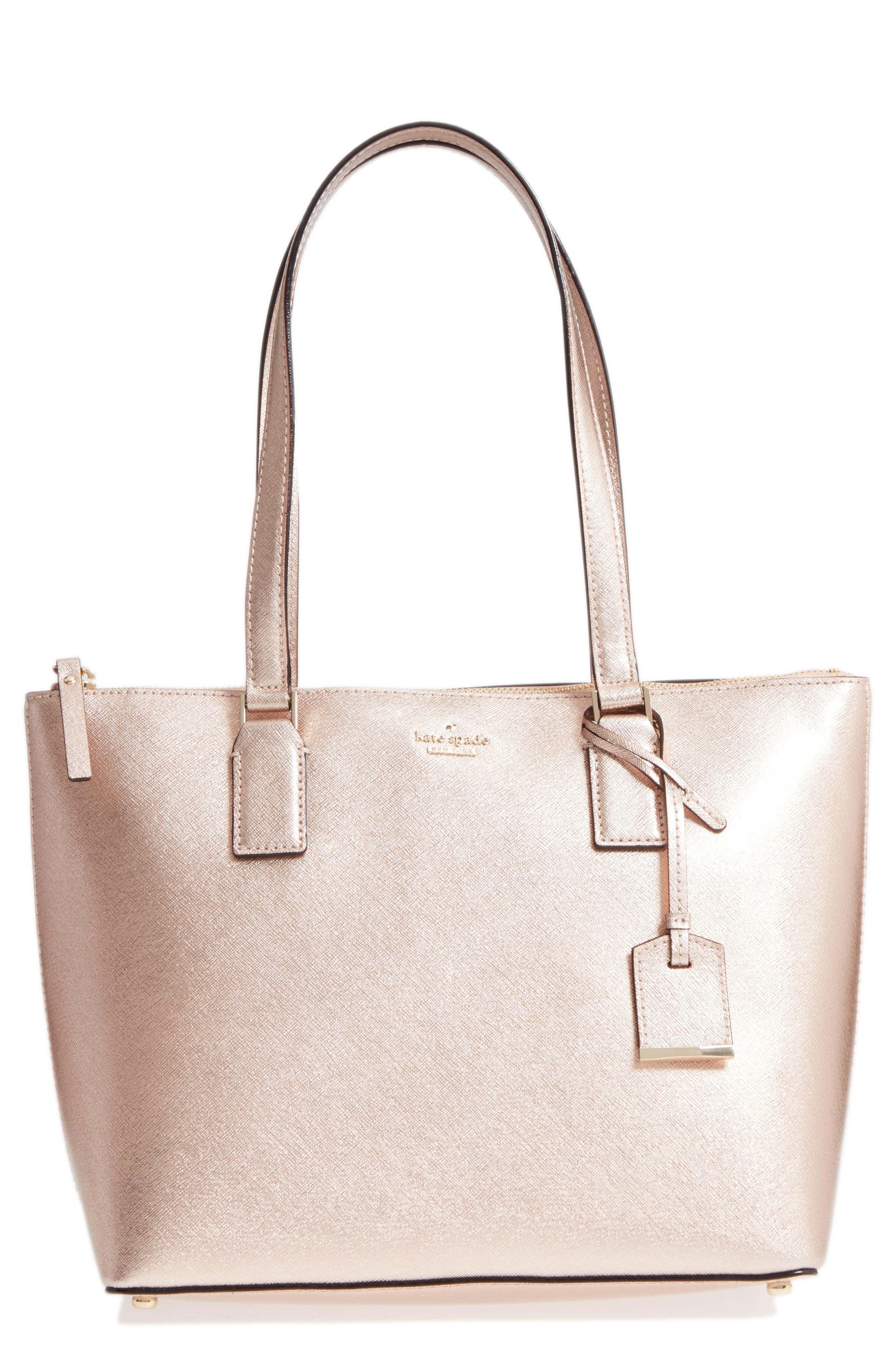 Main Image - kate spade new york cameron street - small lucie leather tote