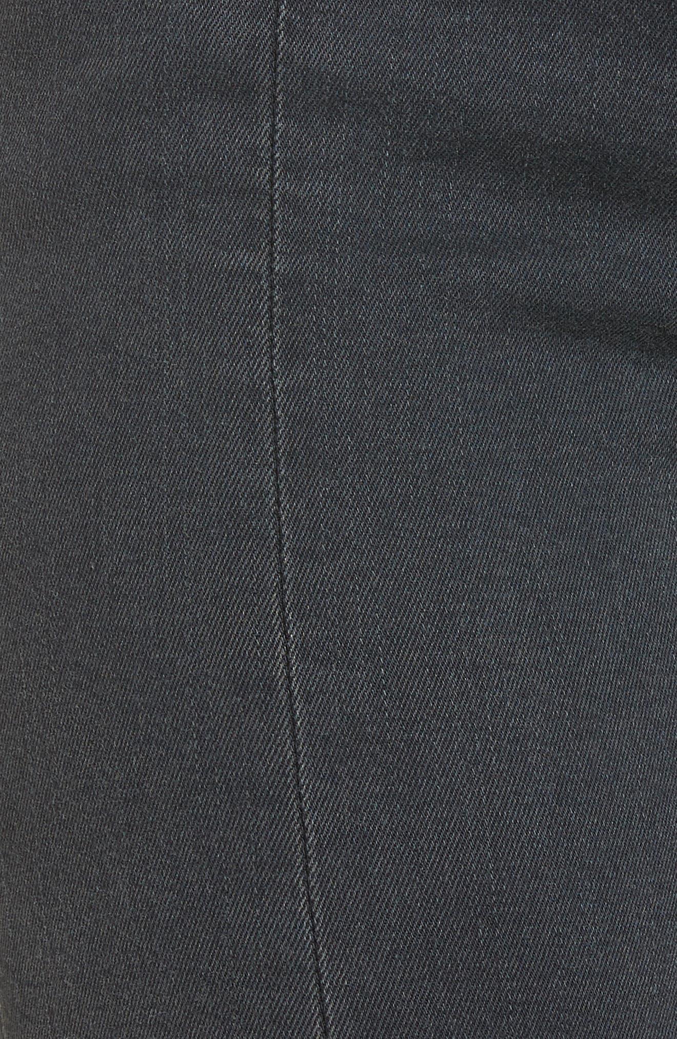 Alternate Image 5  - Vigoss Jagger Front Seam Skinny Jeans