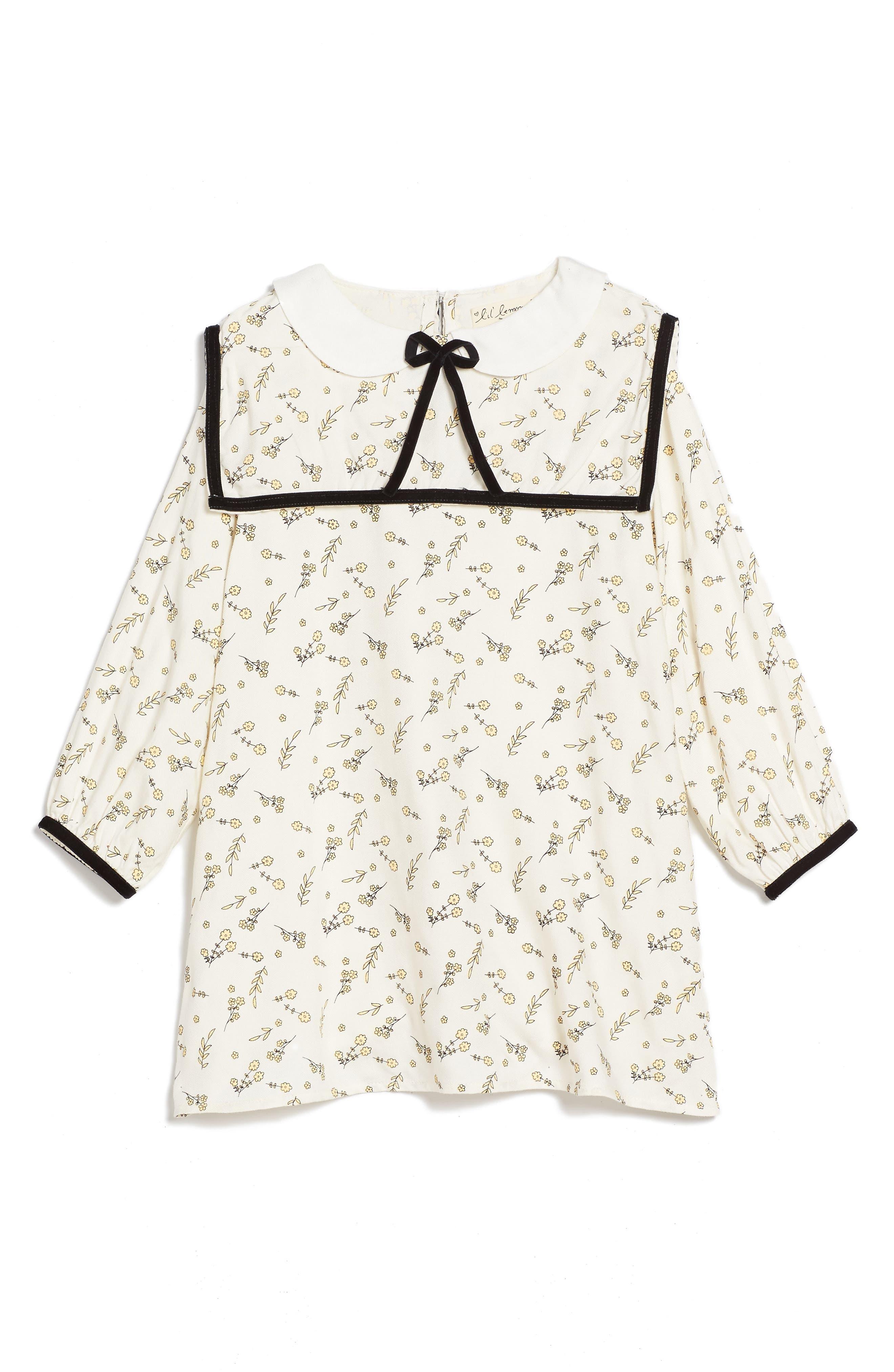 For Love & Lemons French Floral Sailor Dress (Toddler Girls & Little Girls)
