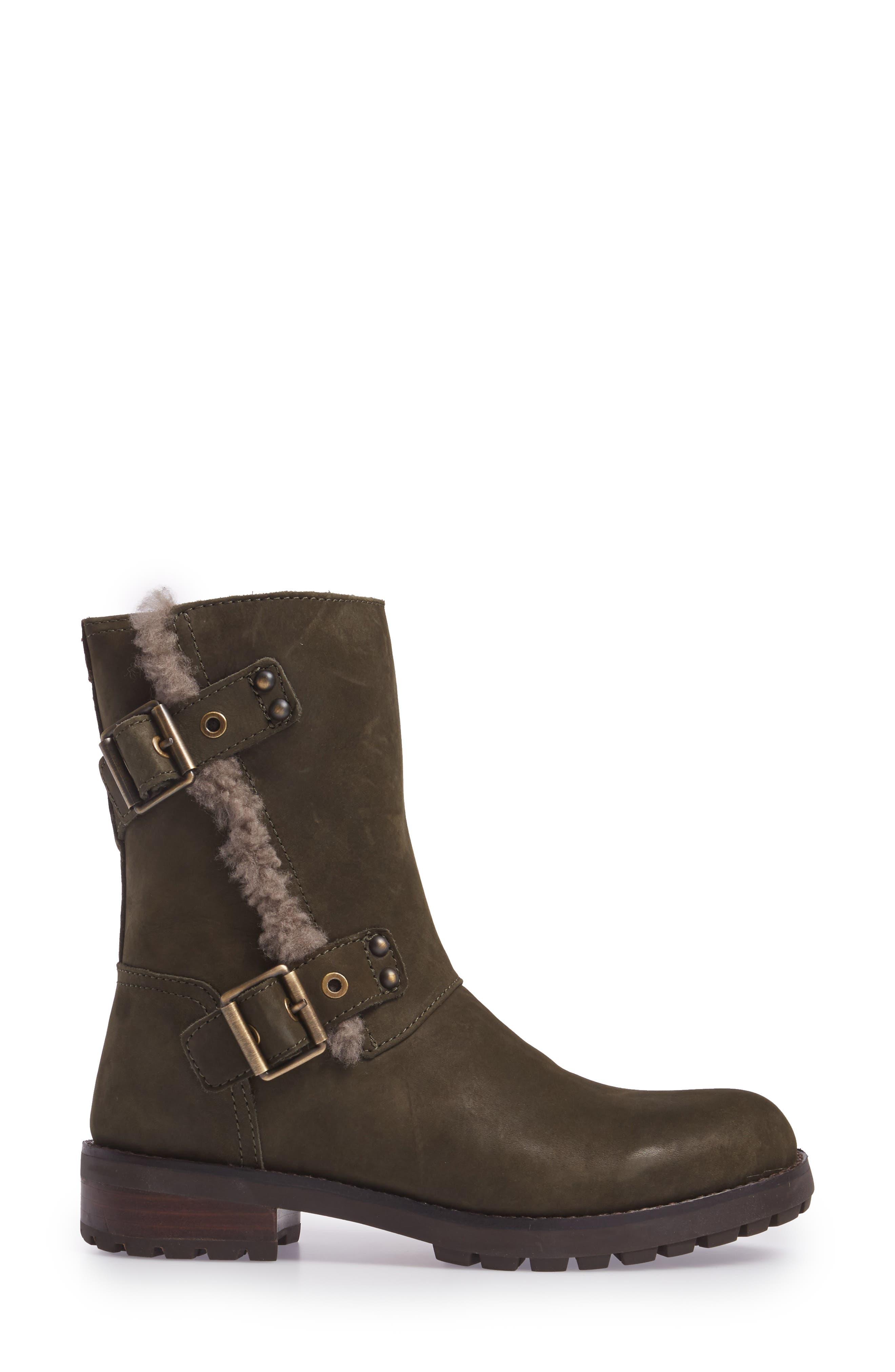 Alternate Image 3  - UGG® Niels Water Resistant Genuine Shearling Boot (Women)