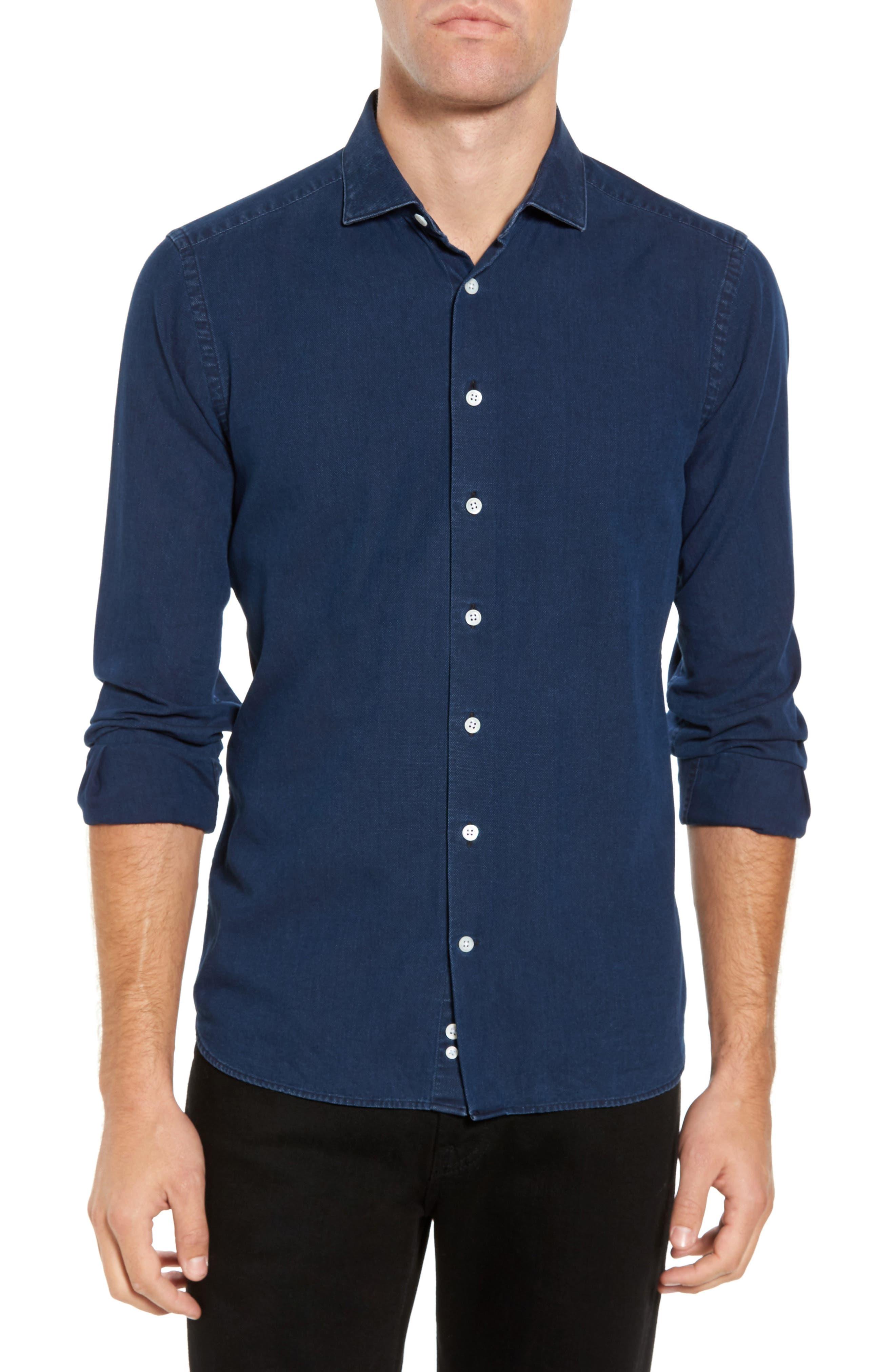 Ledbury Alden Slim Fit Sport Shirt