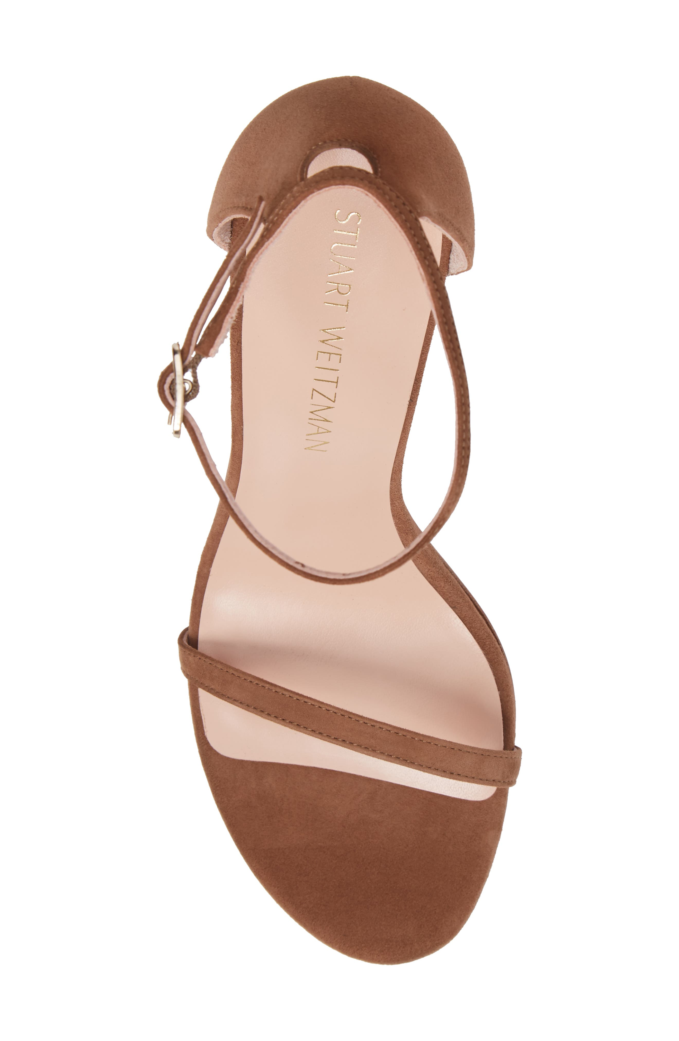 Alternate Image 5  - Stuart Weitzman Nudistsong Ankle Strap Sandal (Women)