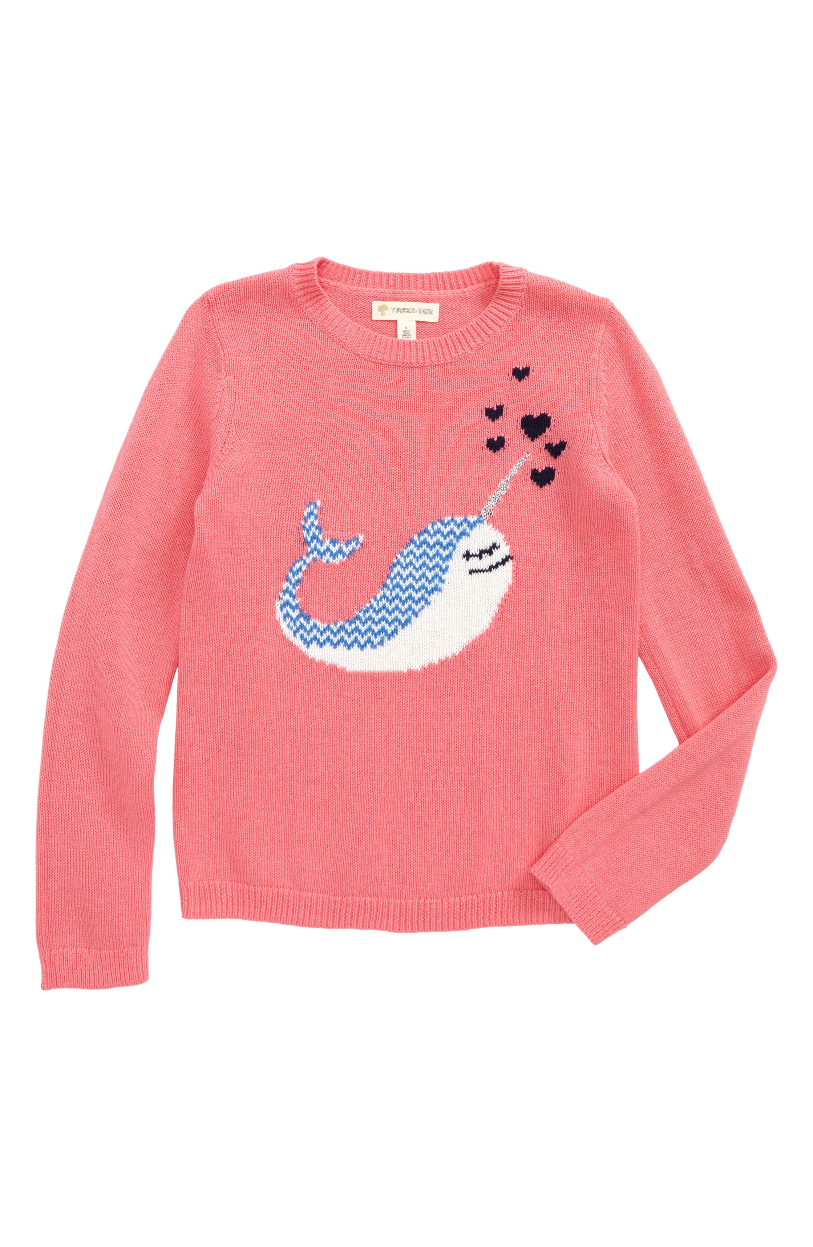 Tucker + Tate Icon Cotton & Cashmere Sweater (Toddler Girls, Little Girls & Big Girls)