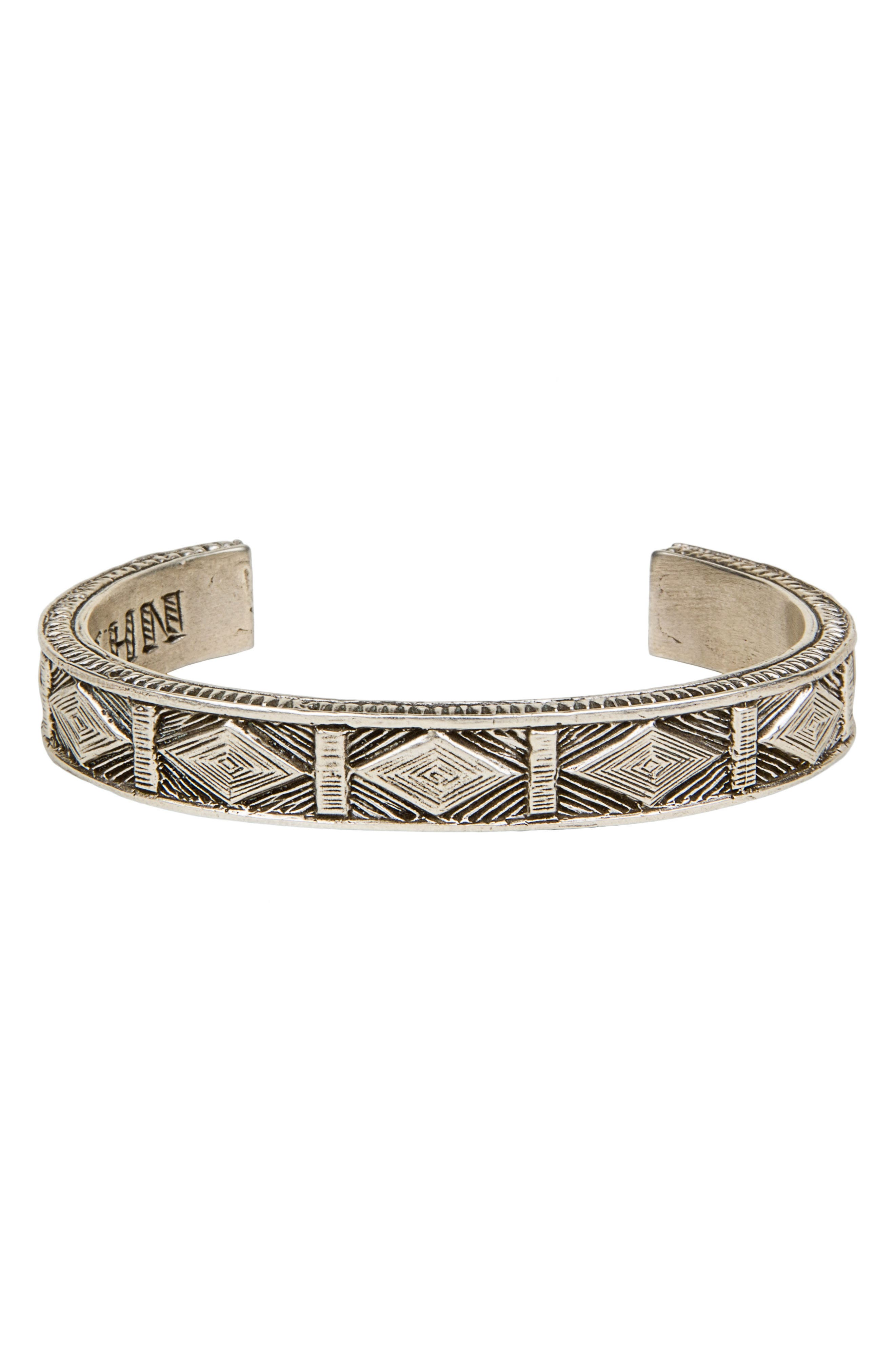 Alternate Image 1 Selected - Lewis Henry Nicholas Hiapo Sterling Silver Cuff