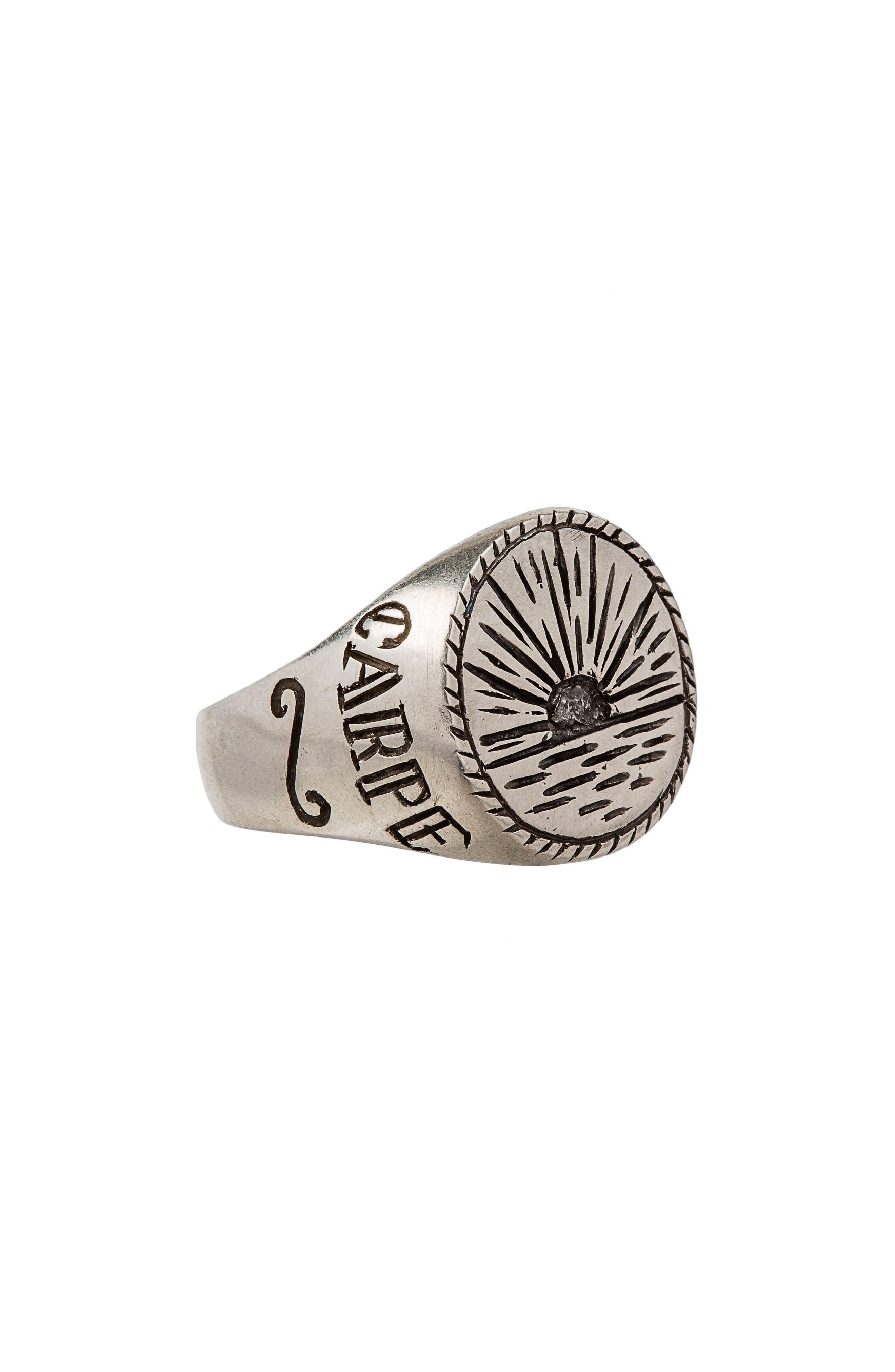 Alternate Image 2  - Lewis Henry Nicholas Sunrise Signet Ring