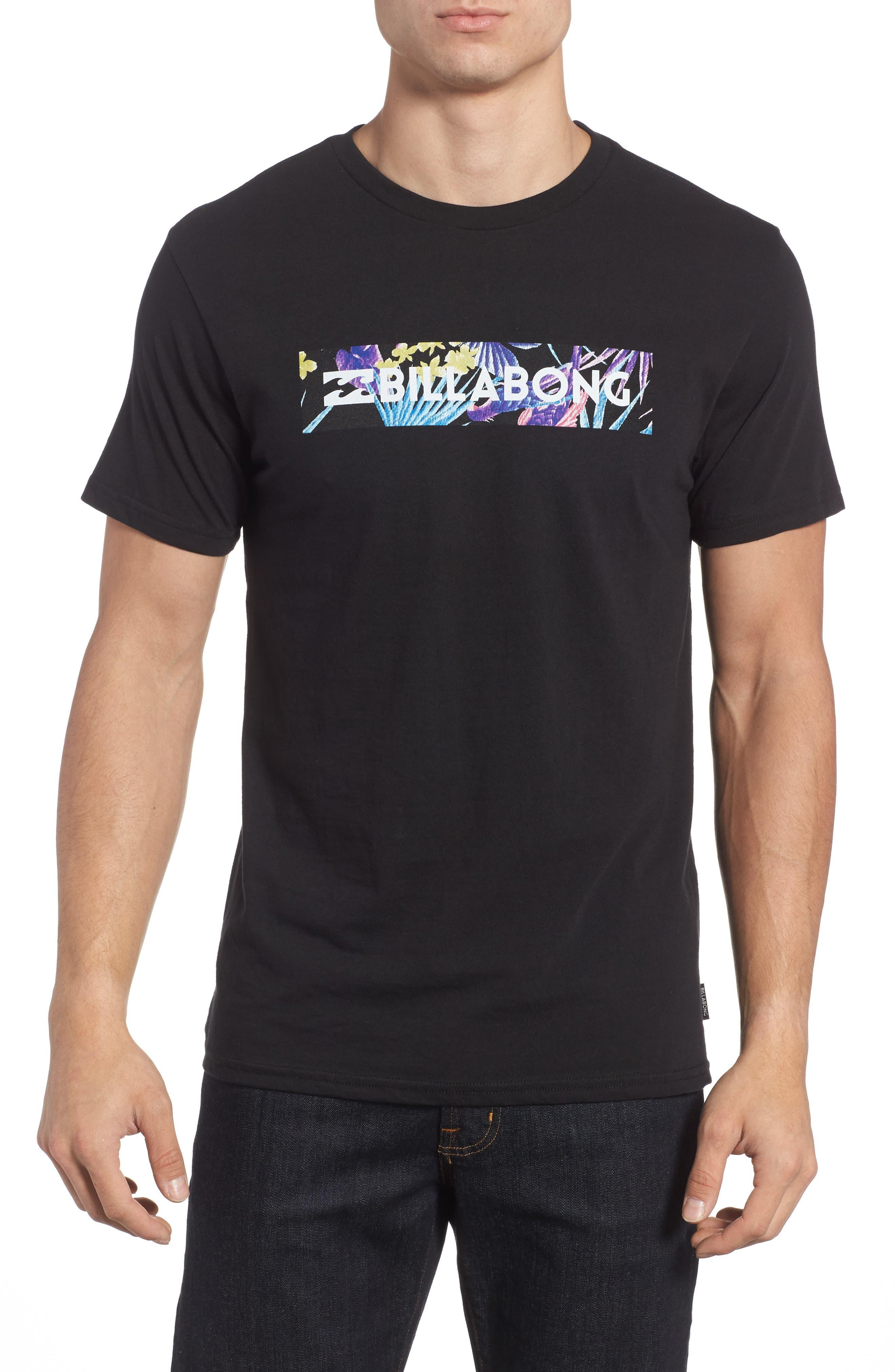 Alternate Image 1 Selected - Billabong Unity Block Graphic T-Shirt