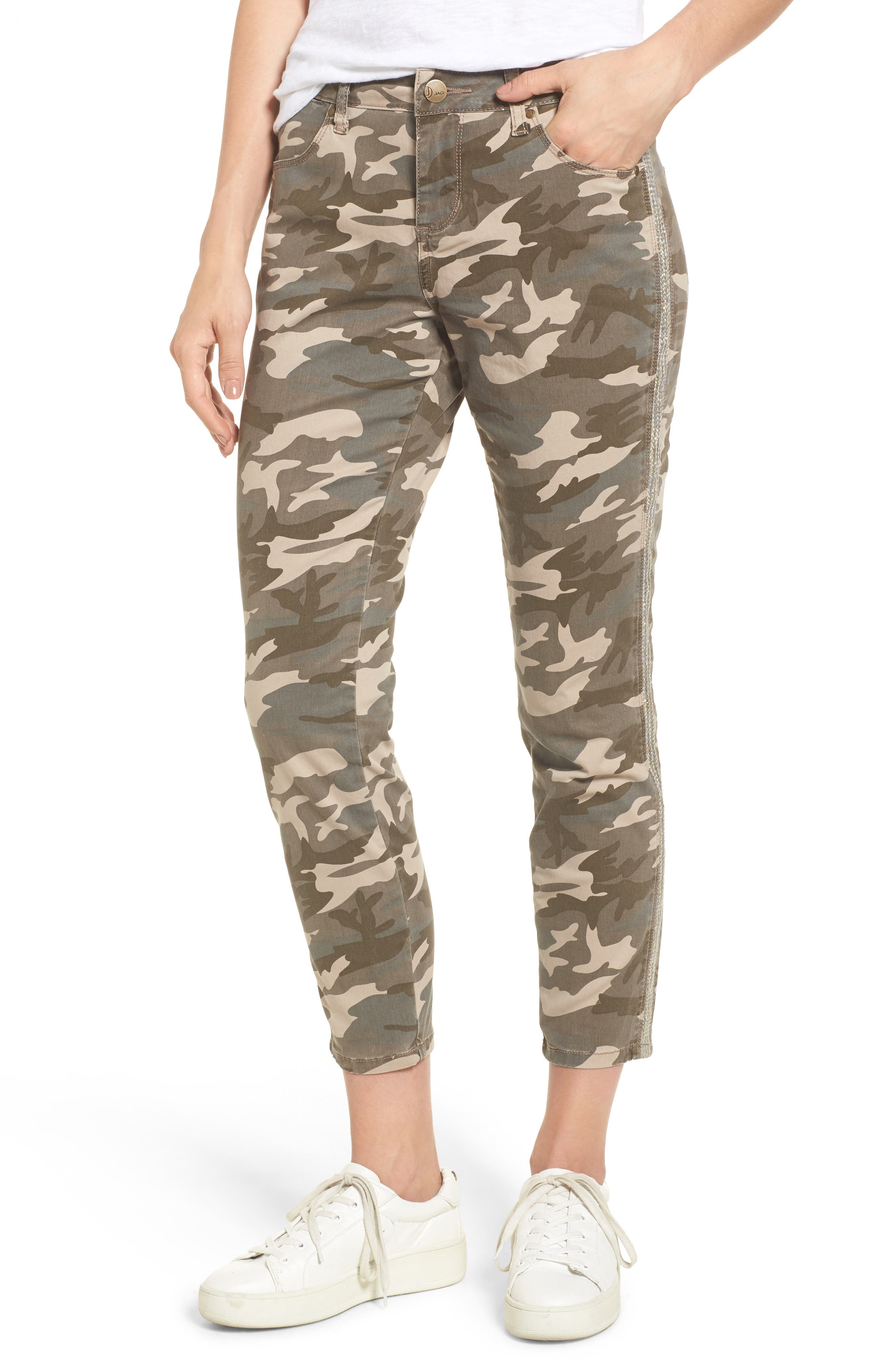 Alternate Image 1 Selected - Jag Jeans Evans Camo Skinny Pants