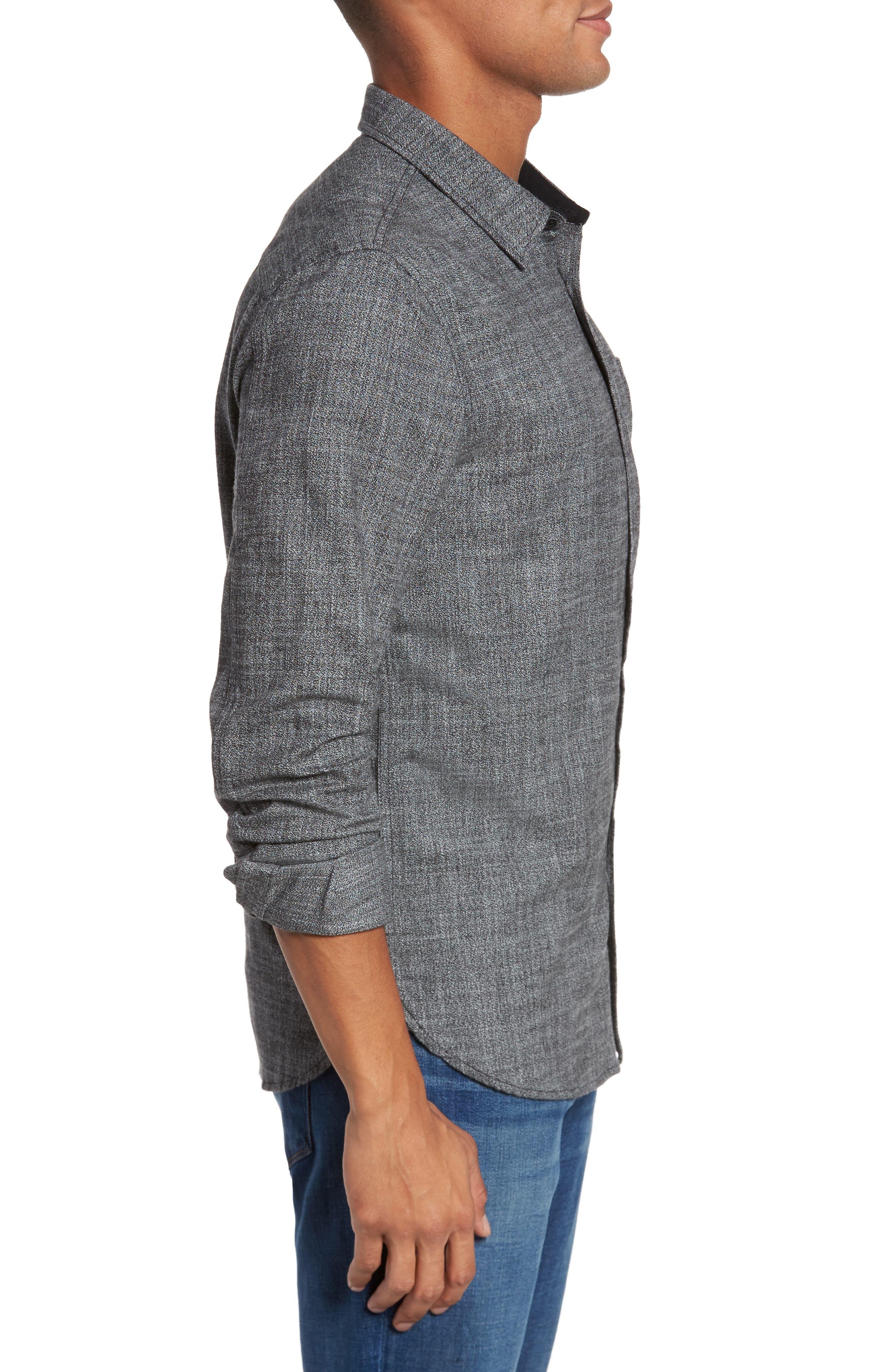 Alternate Image 3  - AG Colton Slim Fit Sport Shirt