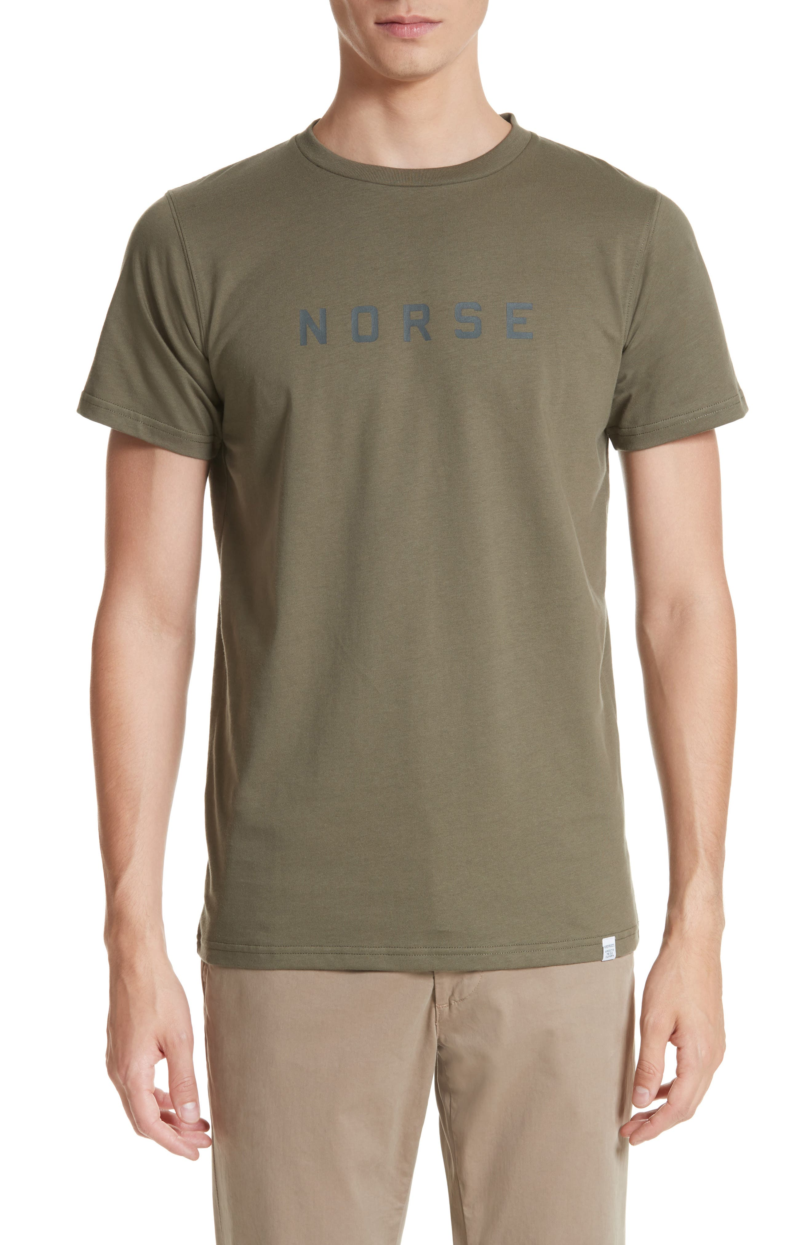Norse Projects Niels Graphic Logo T-Shirt