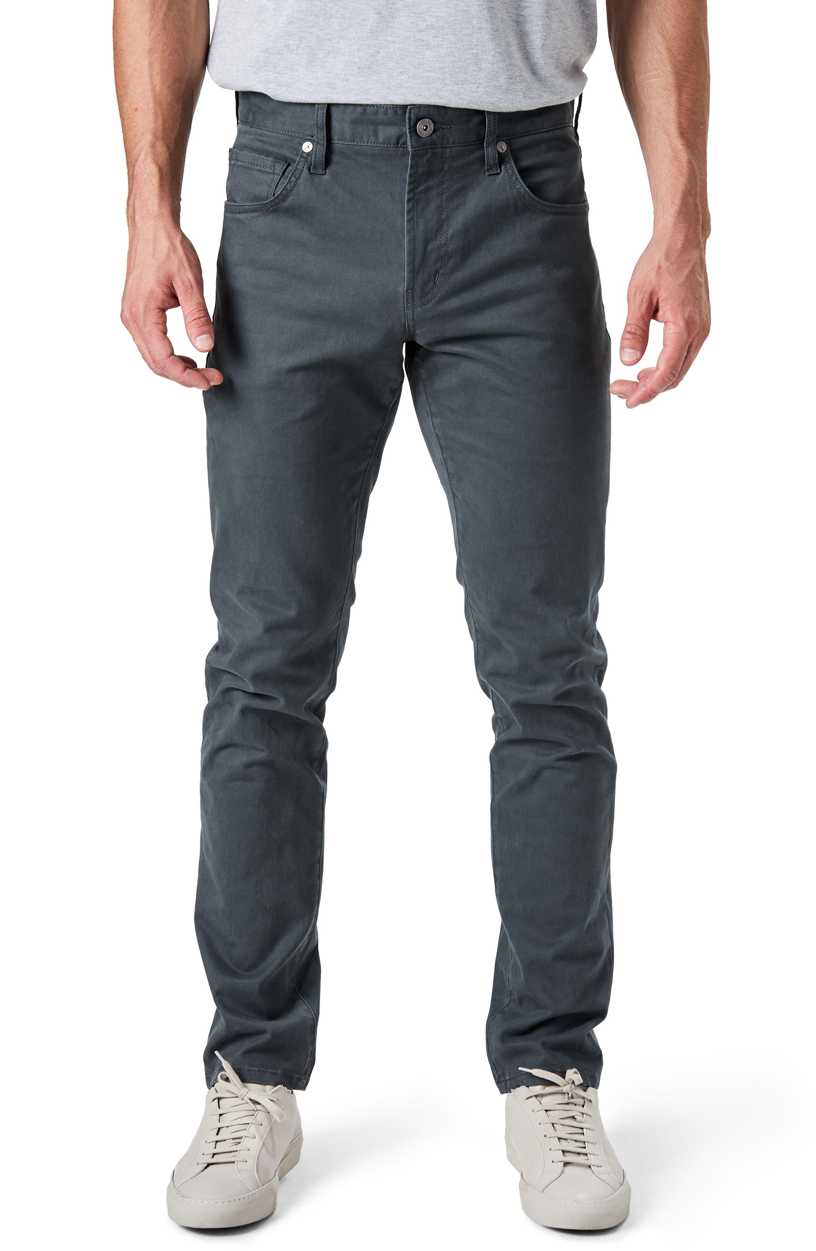 Main Image - 7 Diamonds Brushed Twill Five-Pocket Pants