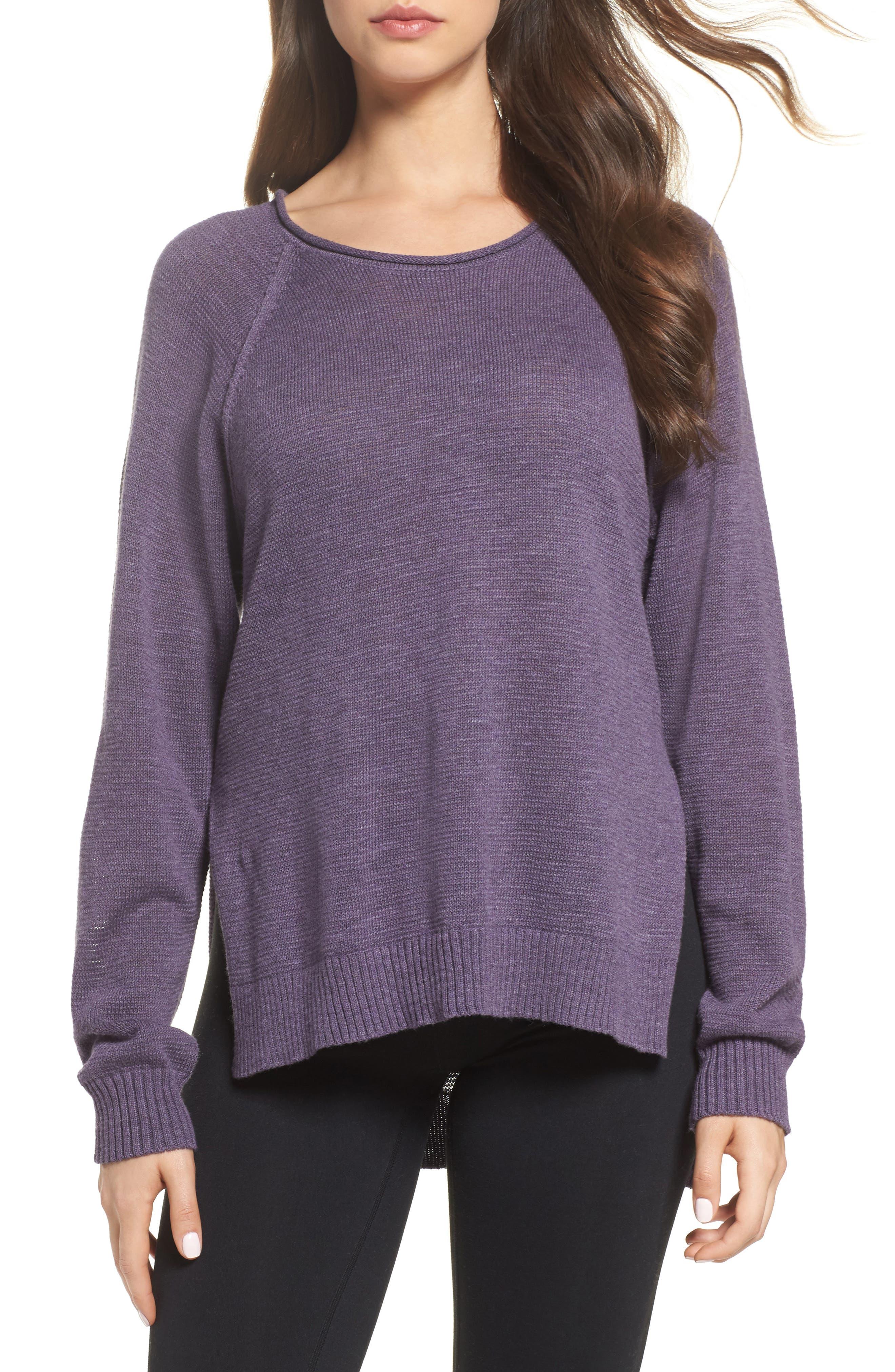 UGG® Estela High/Low Sweater