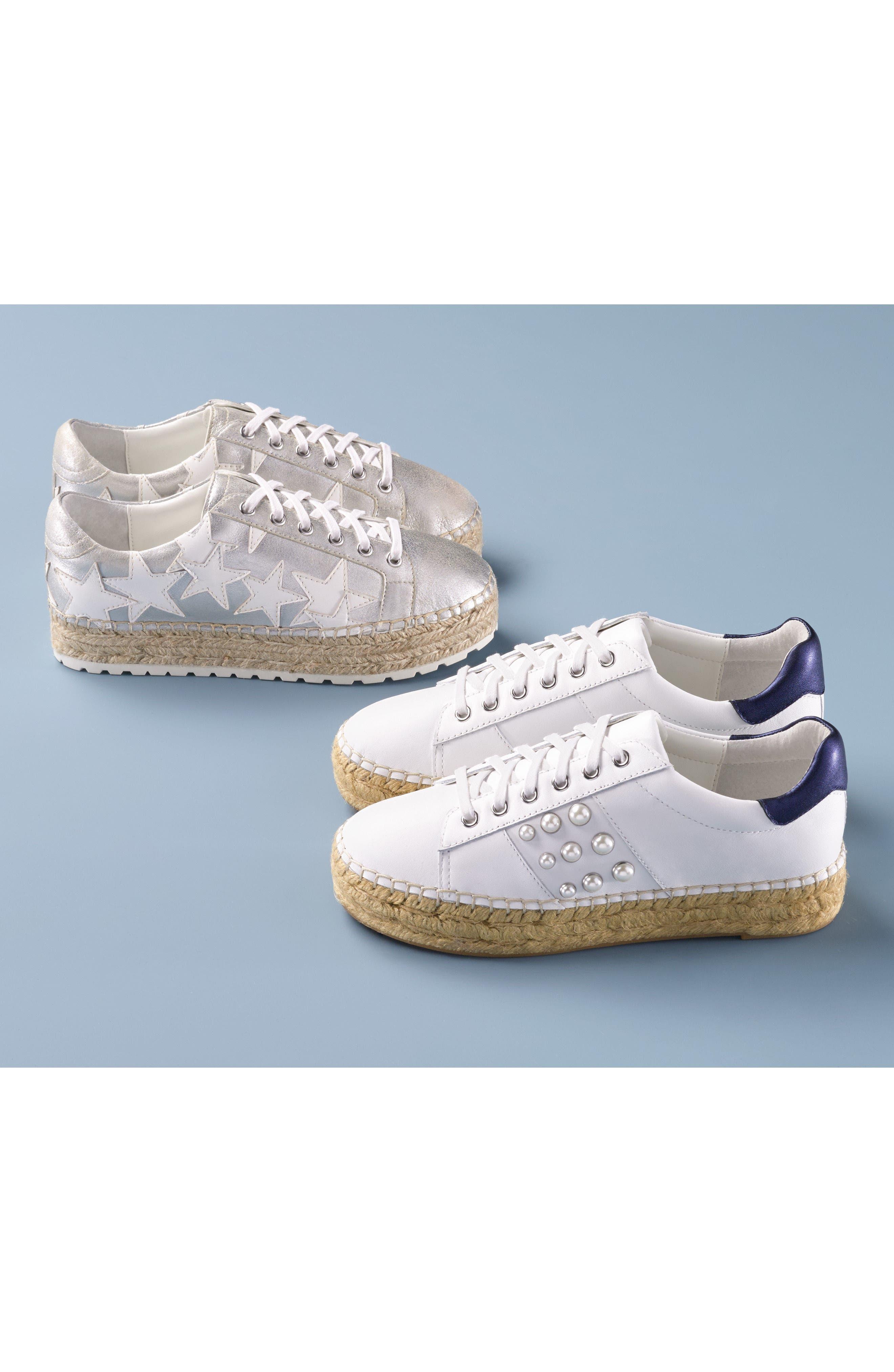 Marge Espadrille Platform Sneaker,                             Alternate thumbnail 7, color,