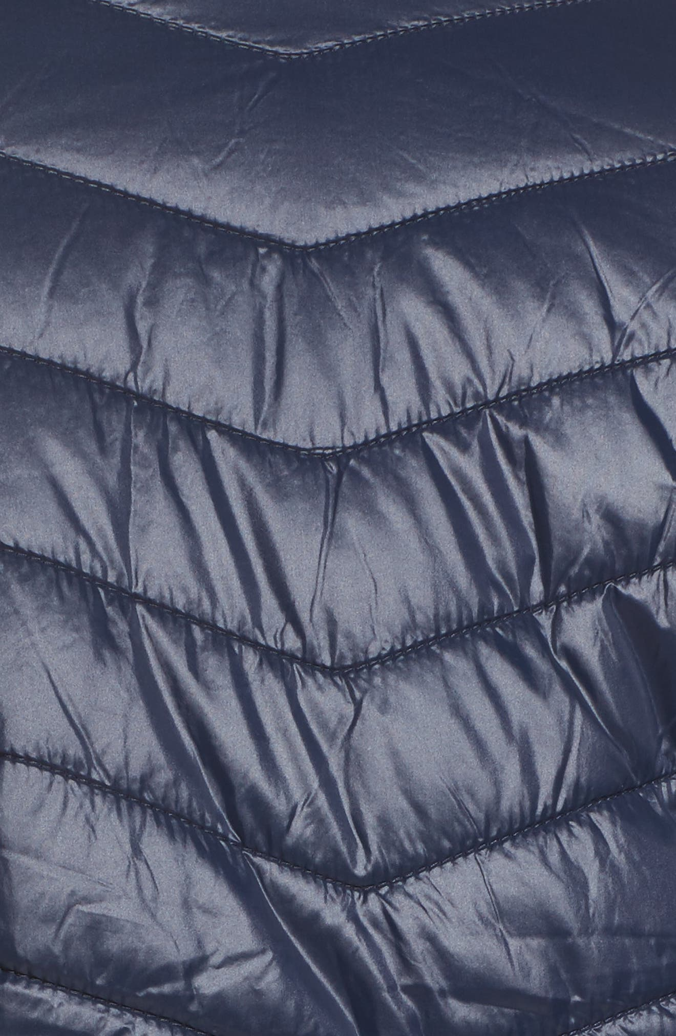 Alternate Image 6  - JUNAROSE Twisted Quilted Puffer Jacket (Plus Size)