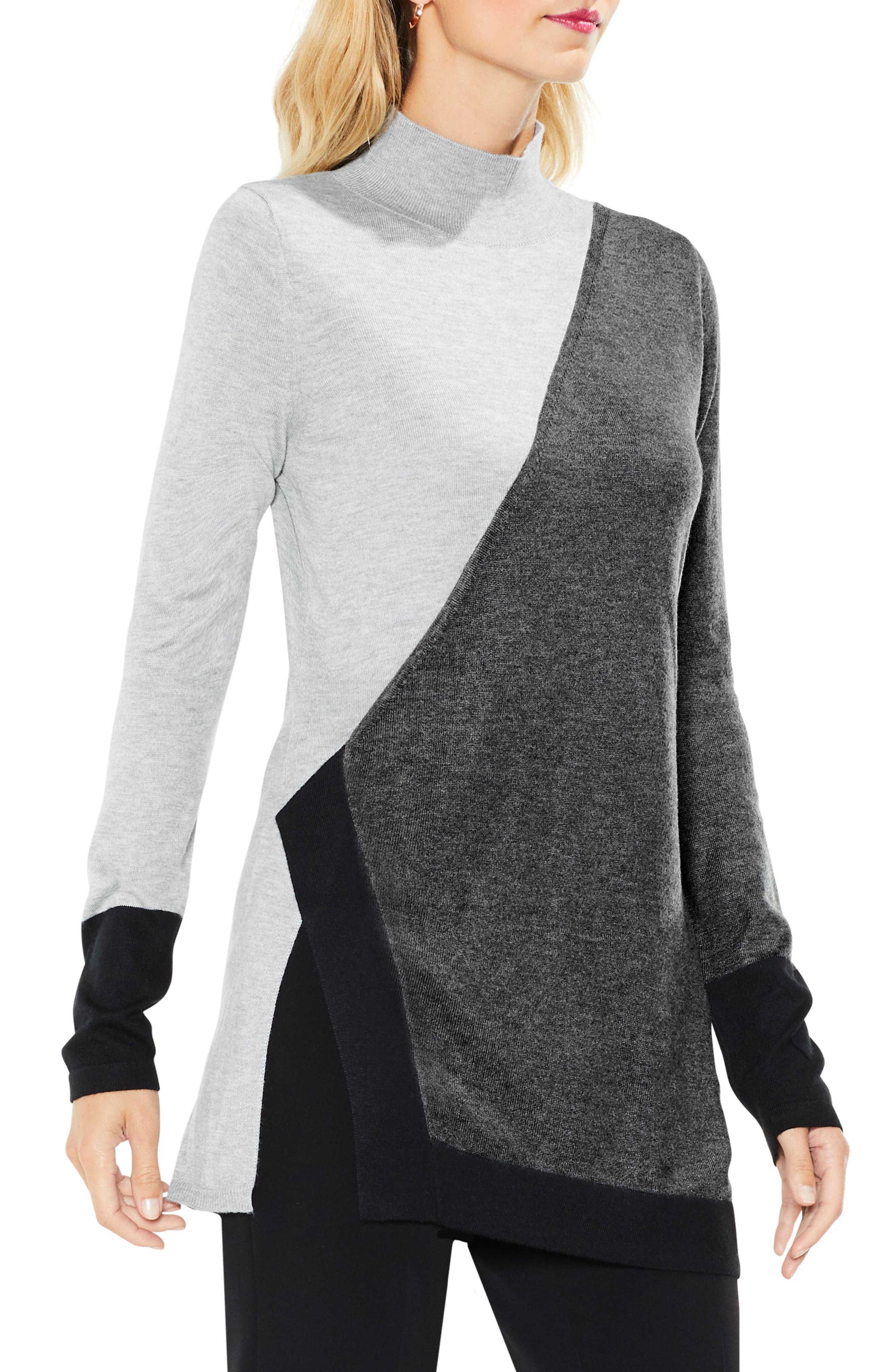 Women's Grey Turtleneck Sweaters | Nordstrom