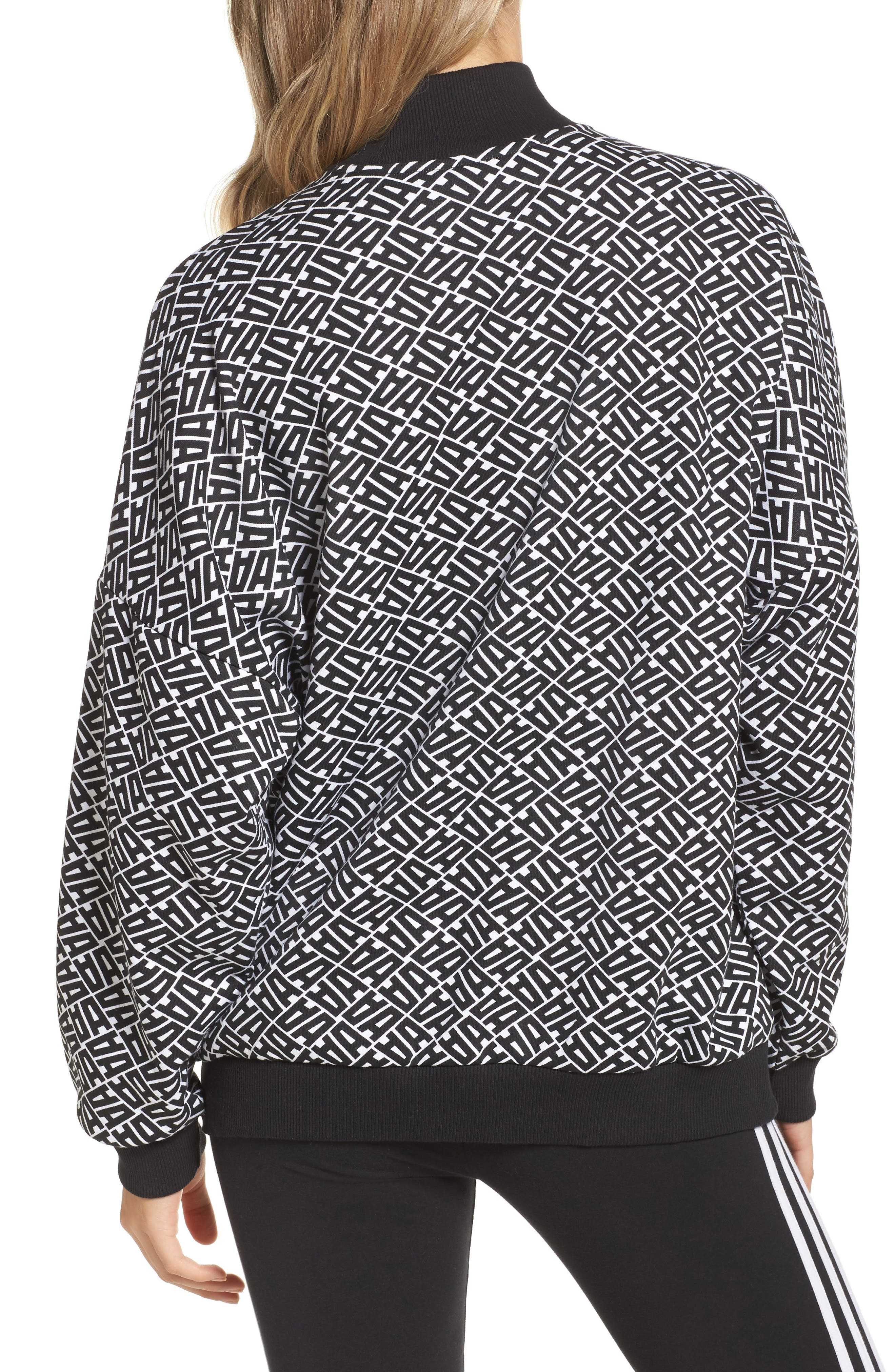 Alternate Image 2  - adidas AOP Print Sweatshirt