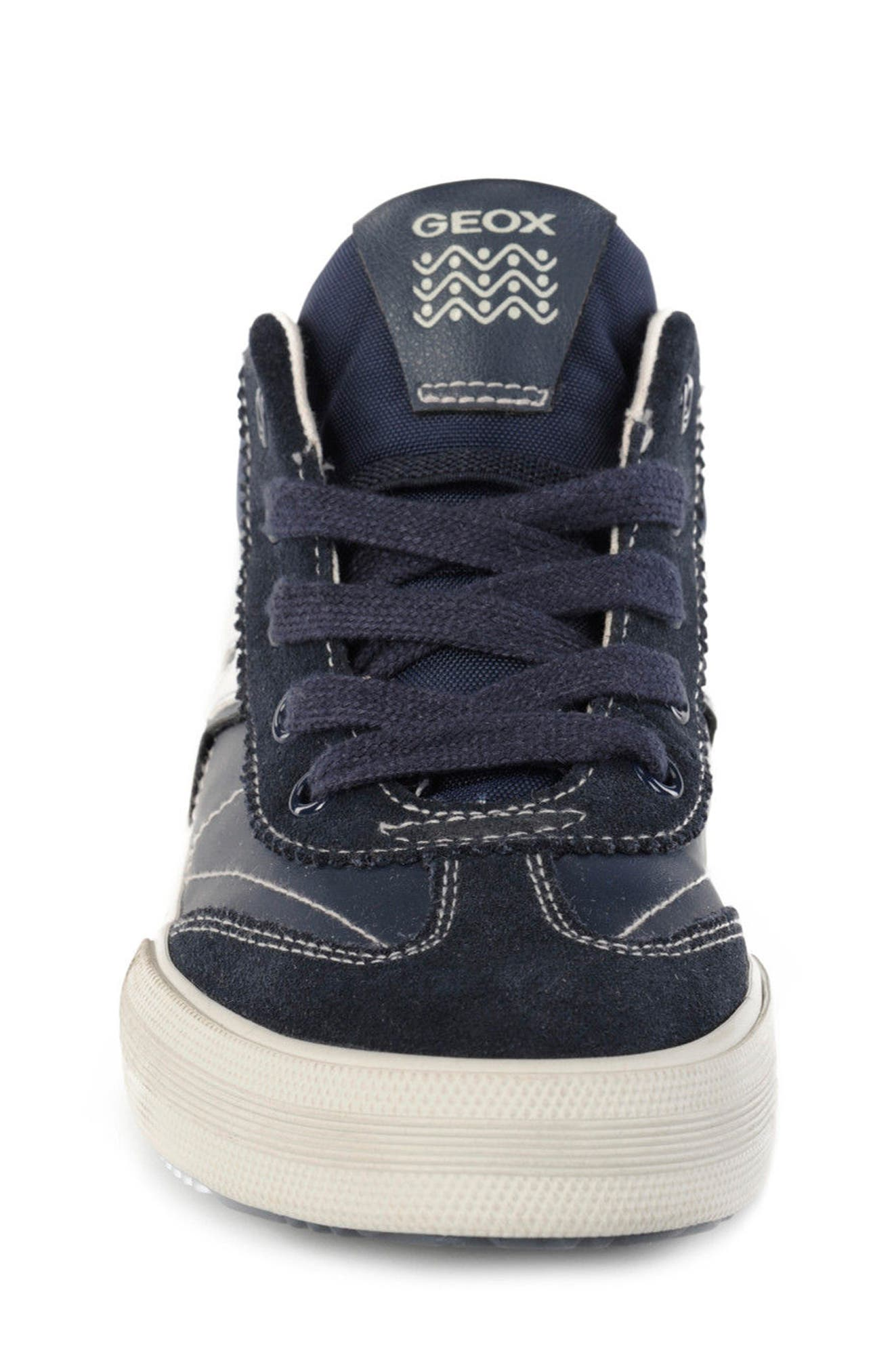 Alternate Image 4  - Geox Alonisso Mid Top Sneaker (Toddler, Little Kid & Big Kid)