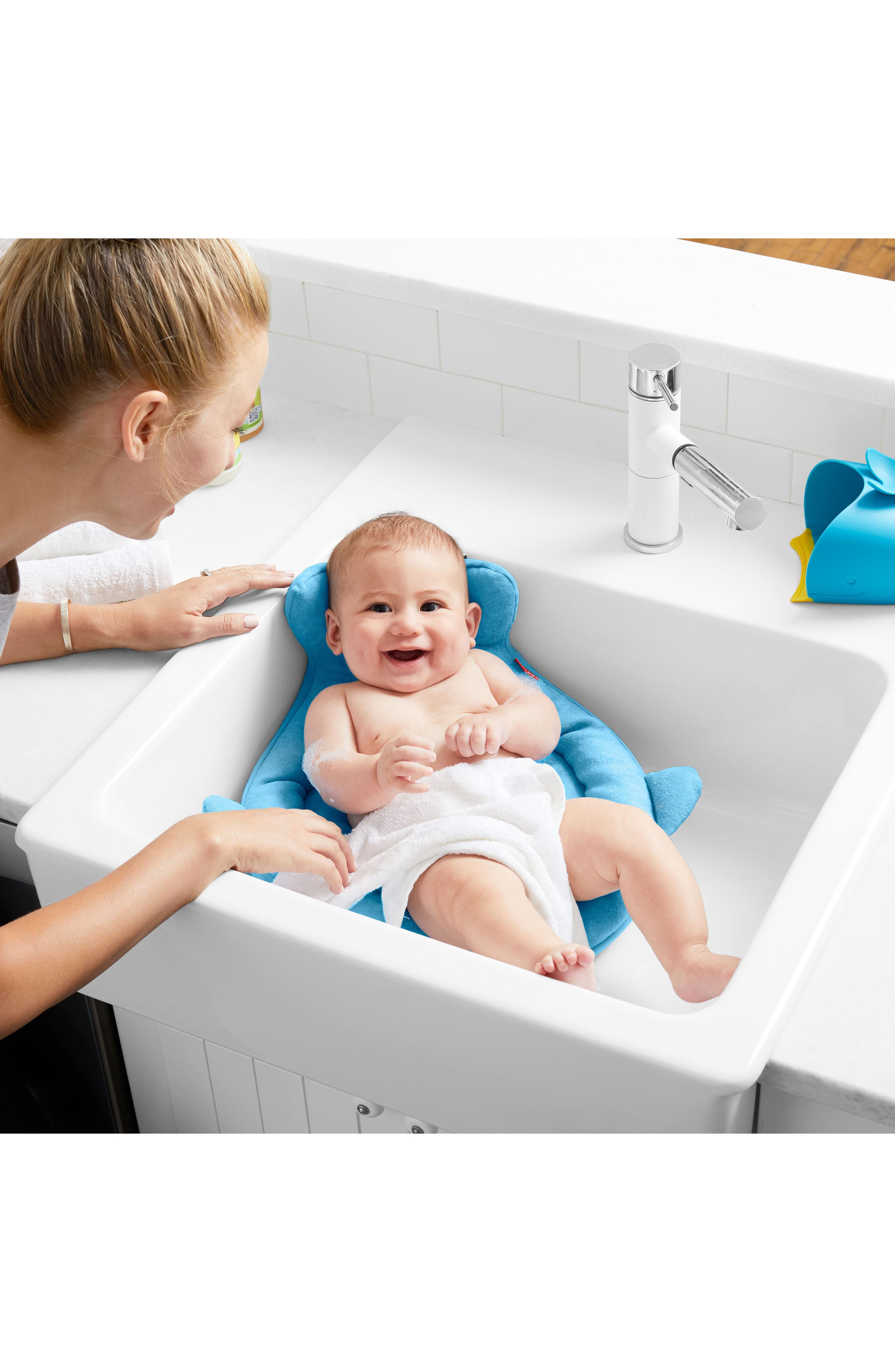 Moby Softspot Sink Bather Inset,                             Alternate thumbnail 4, color,                             Moby