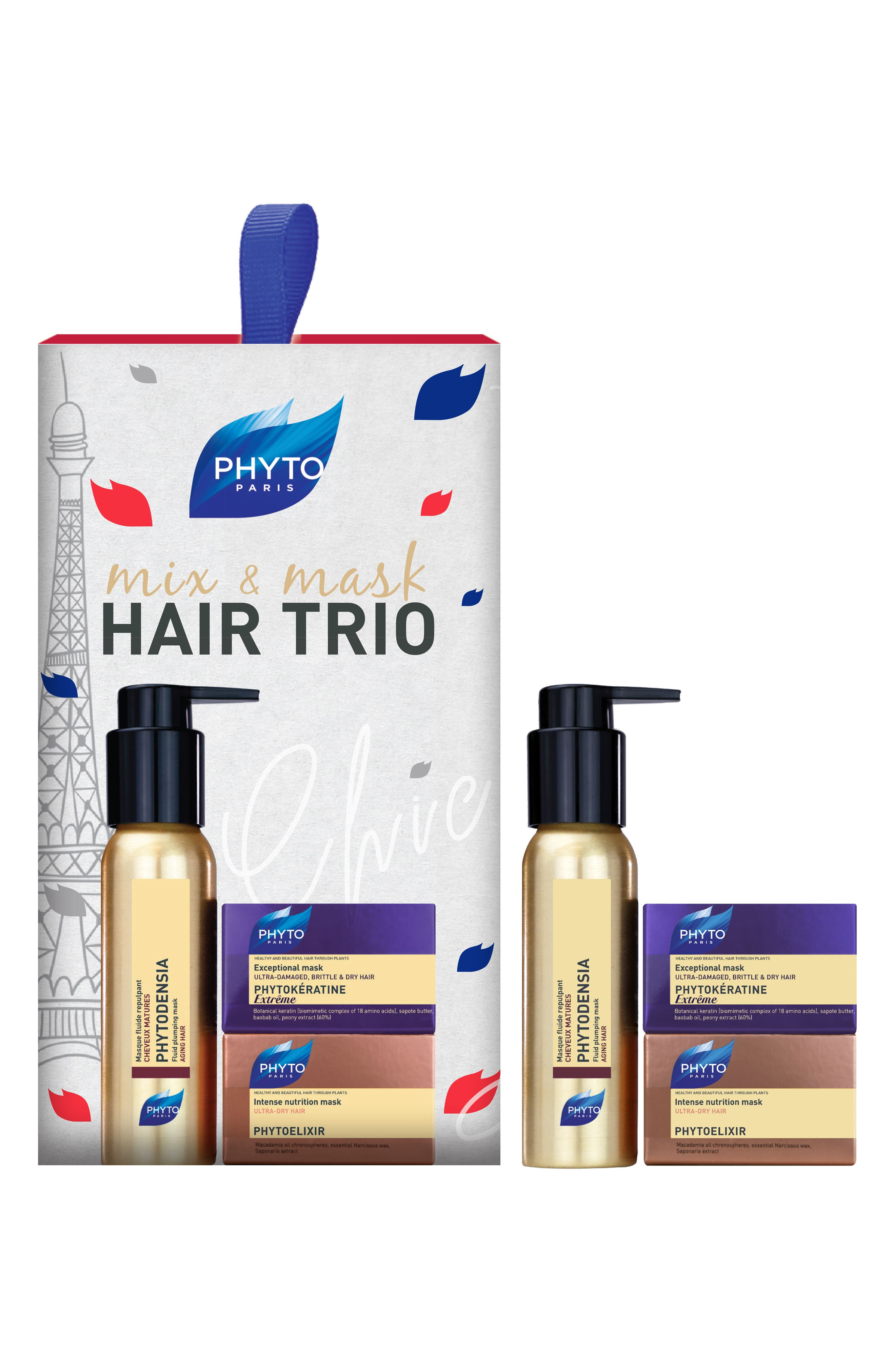 PHYTO Mix & Mask Hair Trio ($29 Value)