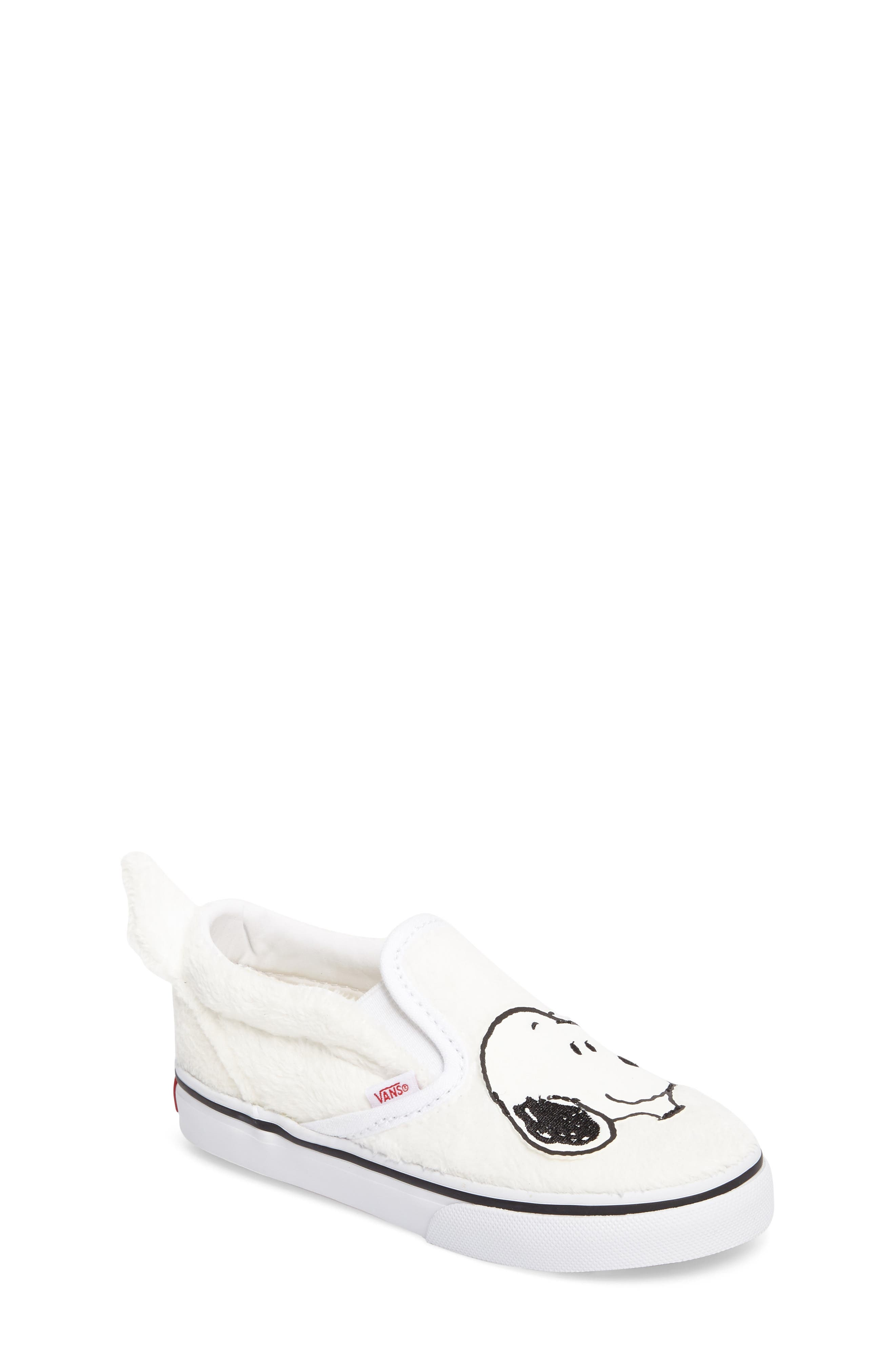 Vans x Peanuts Slip-On Sneaker (Baby, Walker, Toddler, Little Kid & Big Kid)