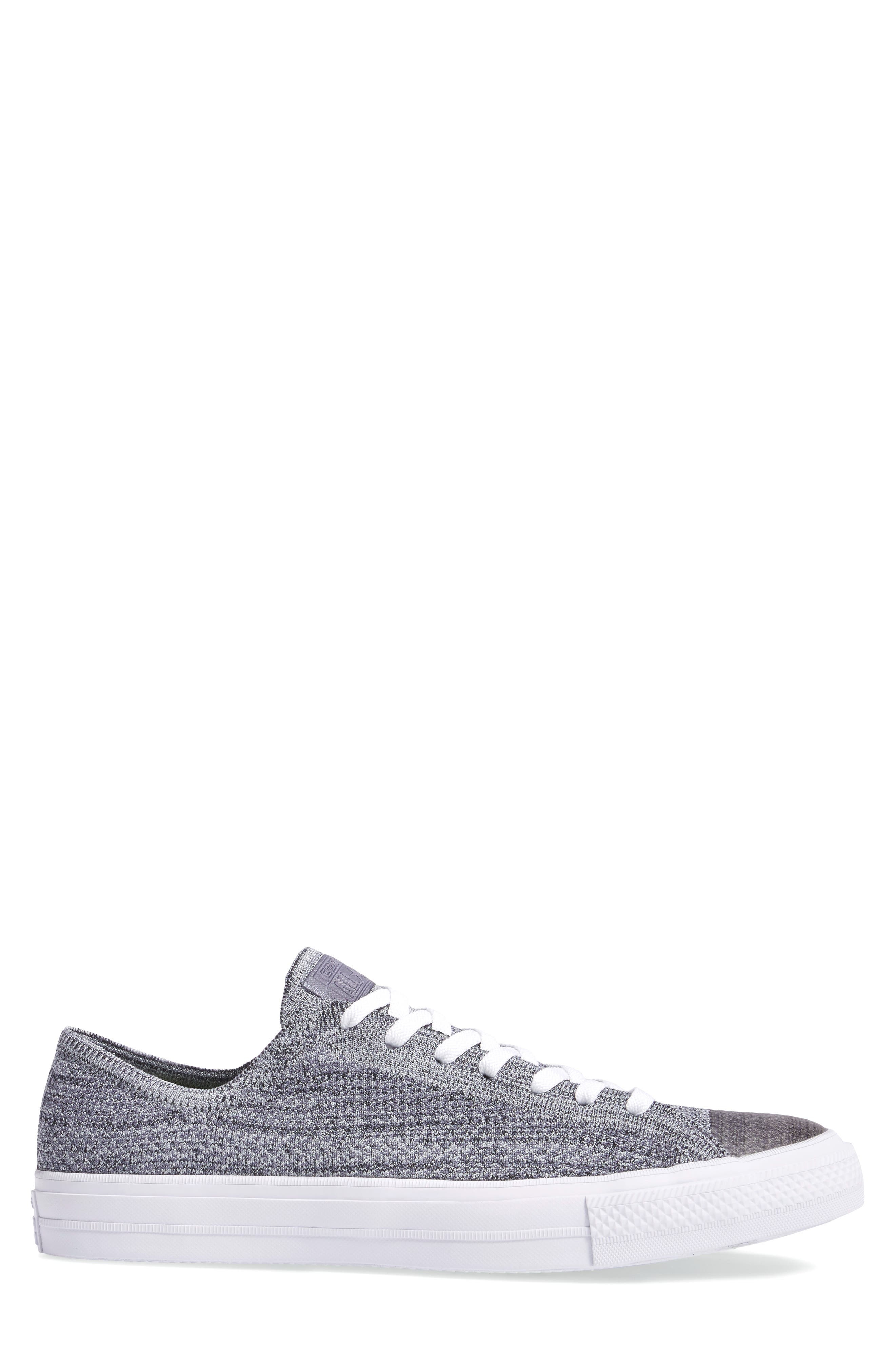 Chuck Taylor<sup>®</sup> All Star<sup>®</sup> Flyknit Sneaker,                             Alternate thumbnail 3, color,                             Carbon