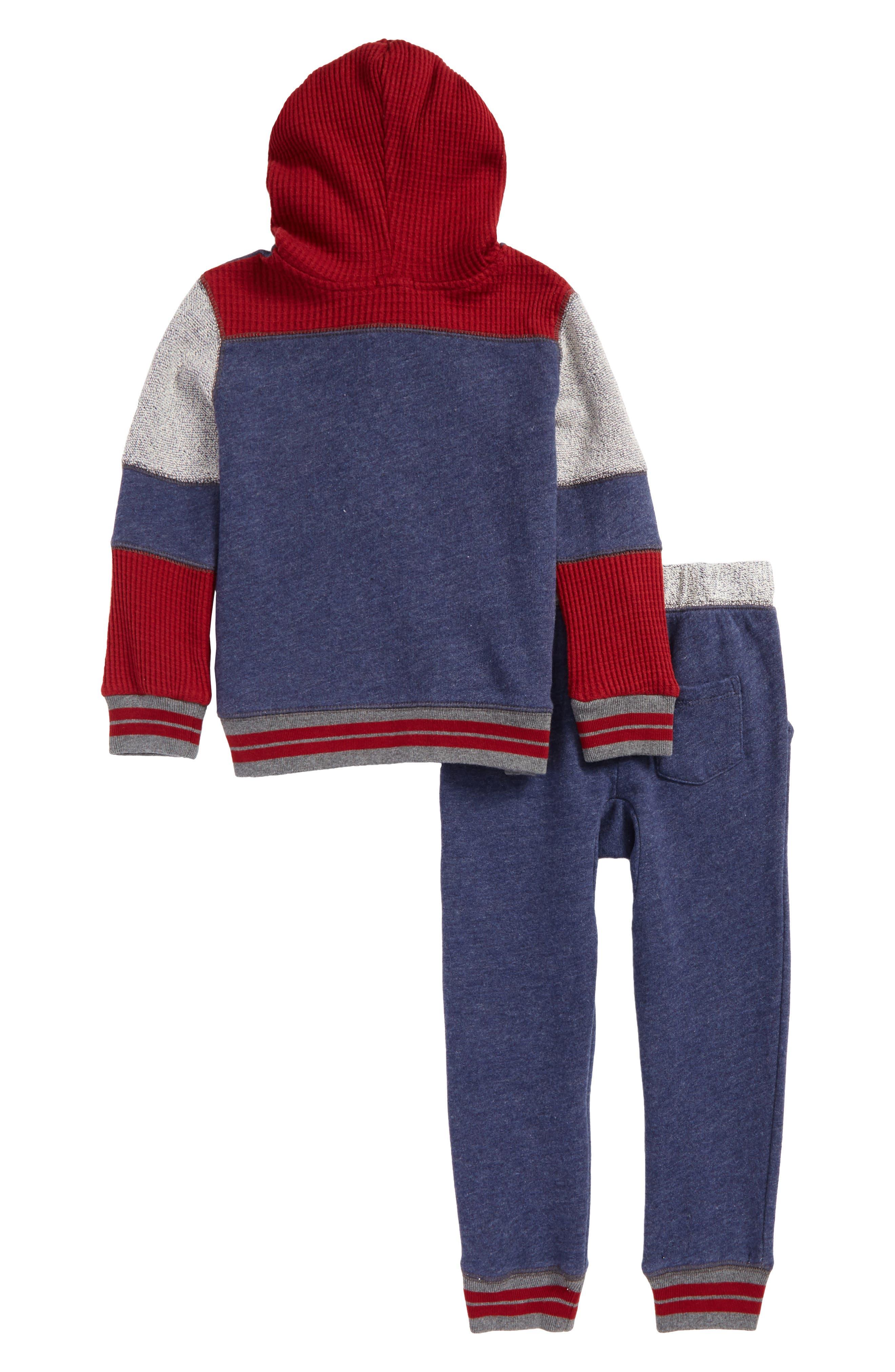 Alternate Image 2  - Splendid Hoodie & Pants Set (Baby Boys)