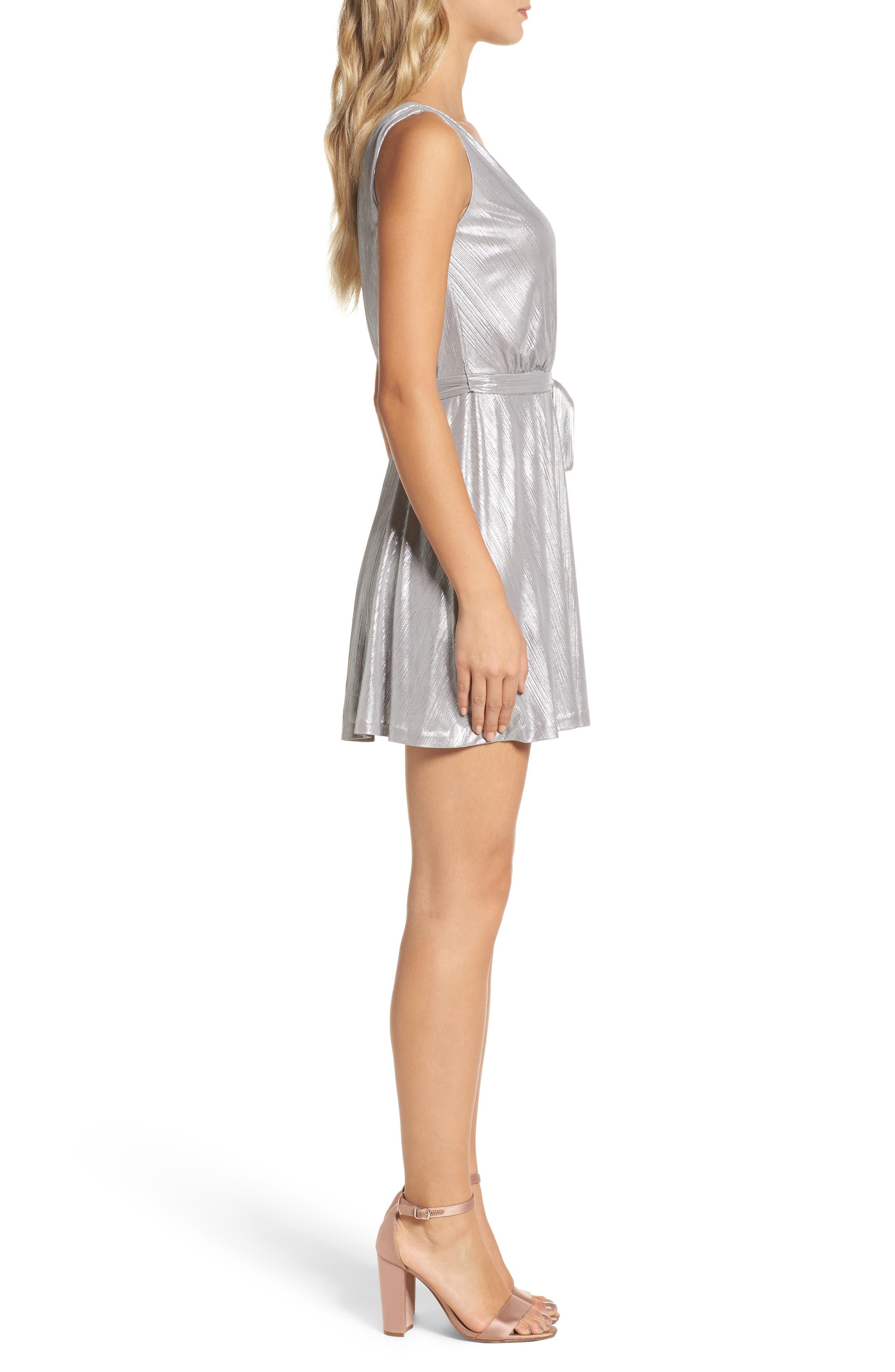 Alternate Image 3  - BB Dakota Aggie Wrap Dress