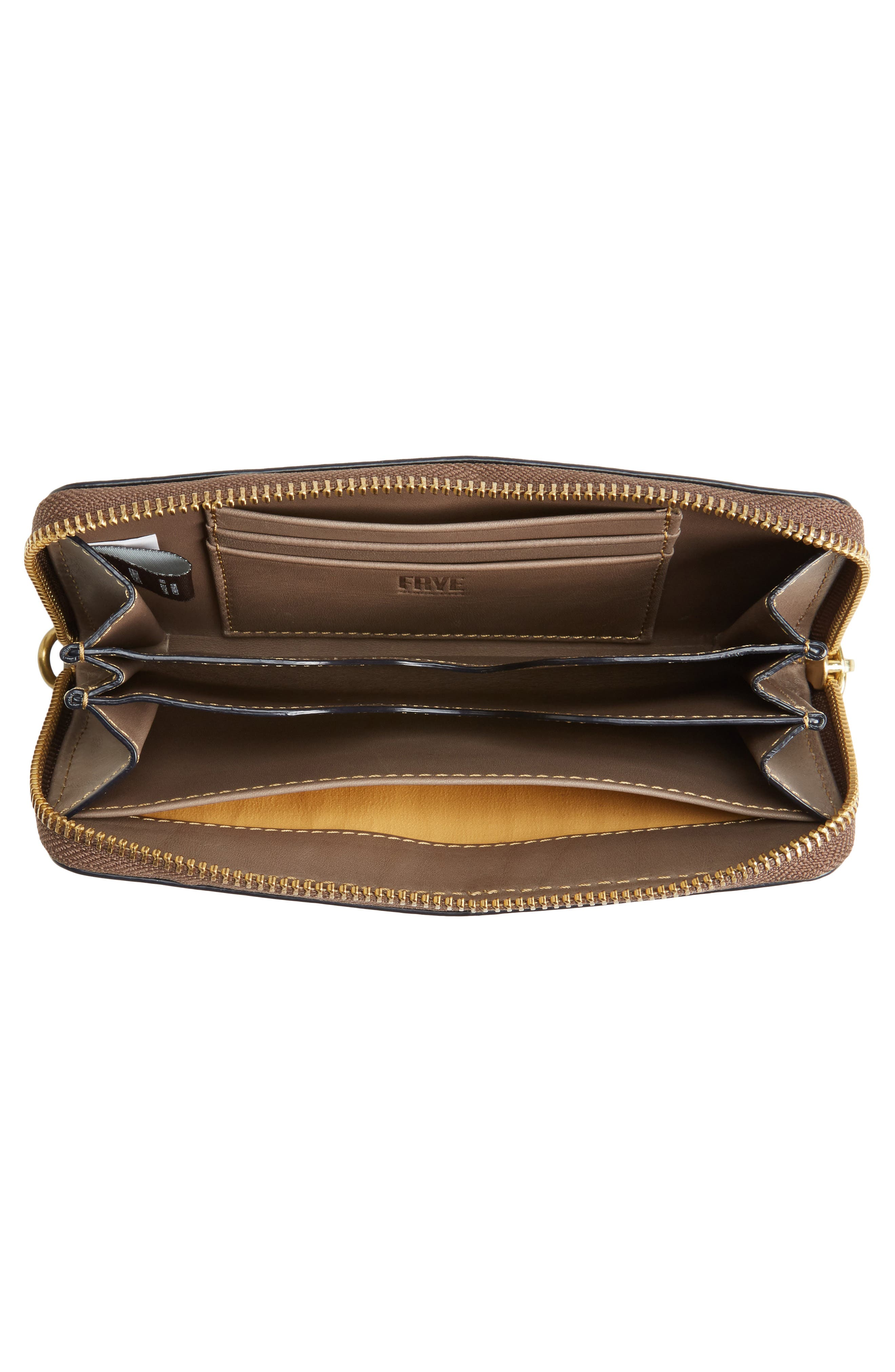 Alternate Image 4  - Frye Ilana Harness Phone Leather Zip Wallet