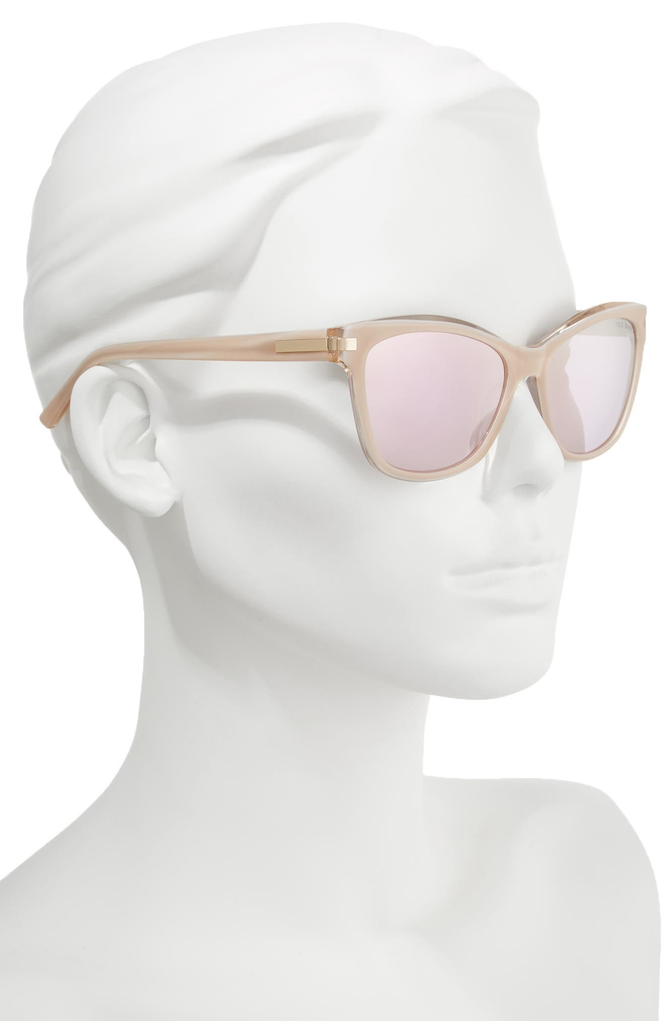 Alternate Image 2  - Ted Baker London 56mm Cat Eye Sunglasses