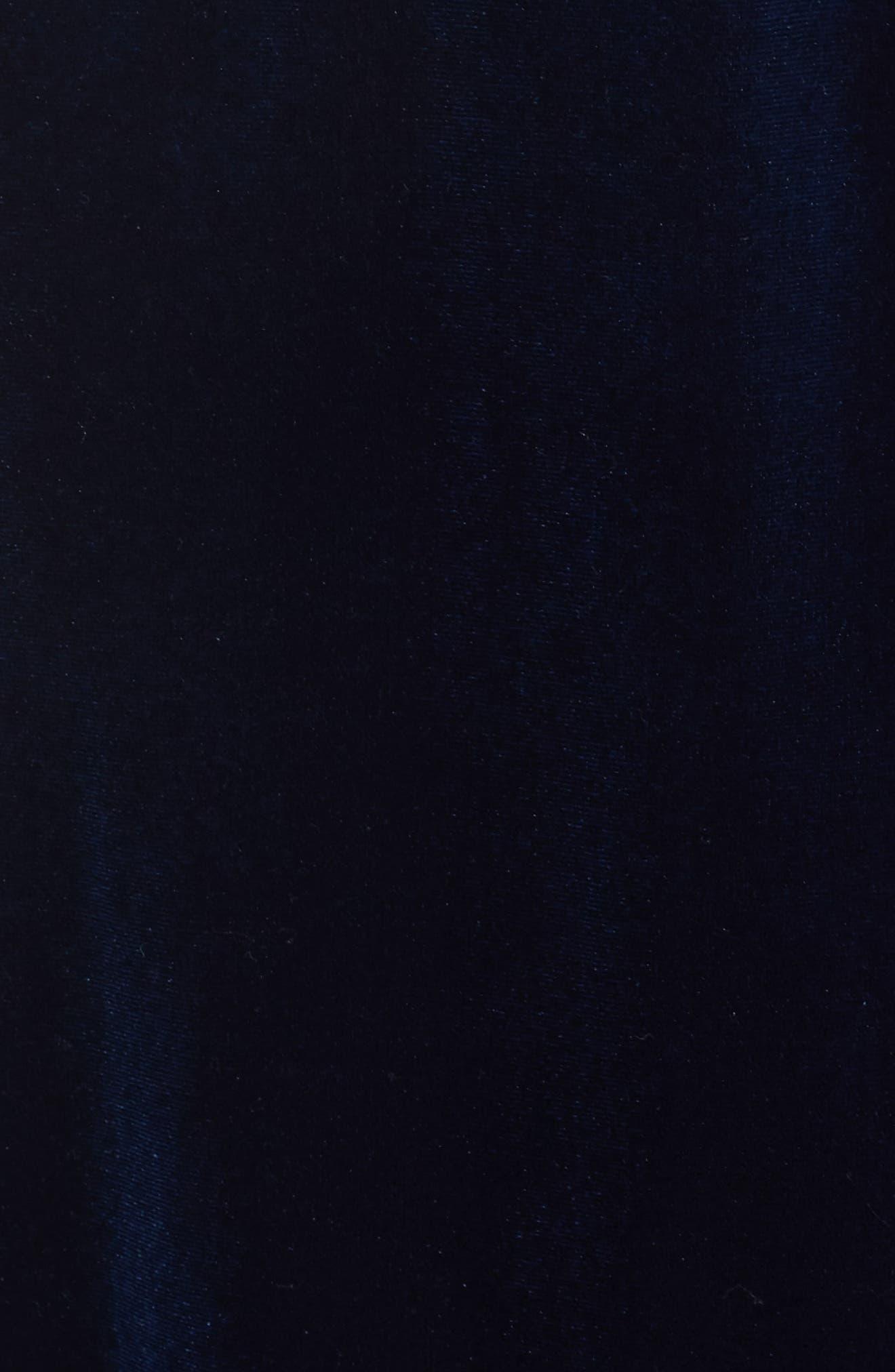 Alternate Image 6  - Lauren Ralph Lauren Shawl Collar Velvet Robe