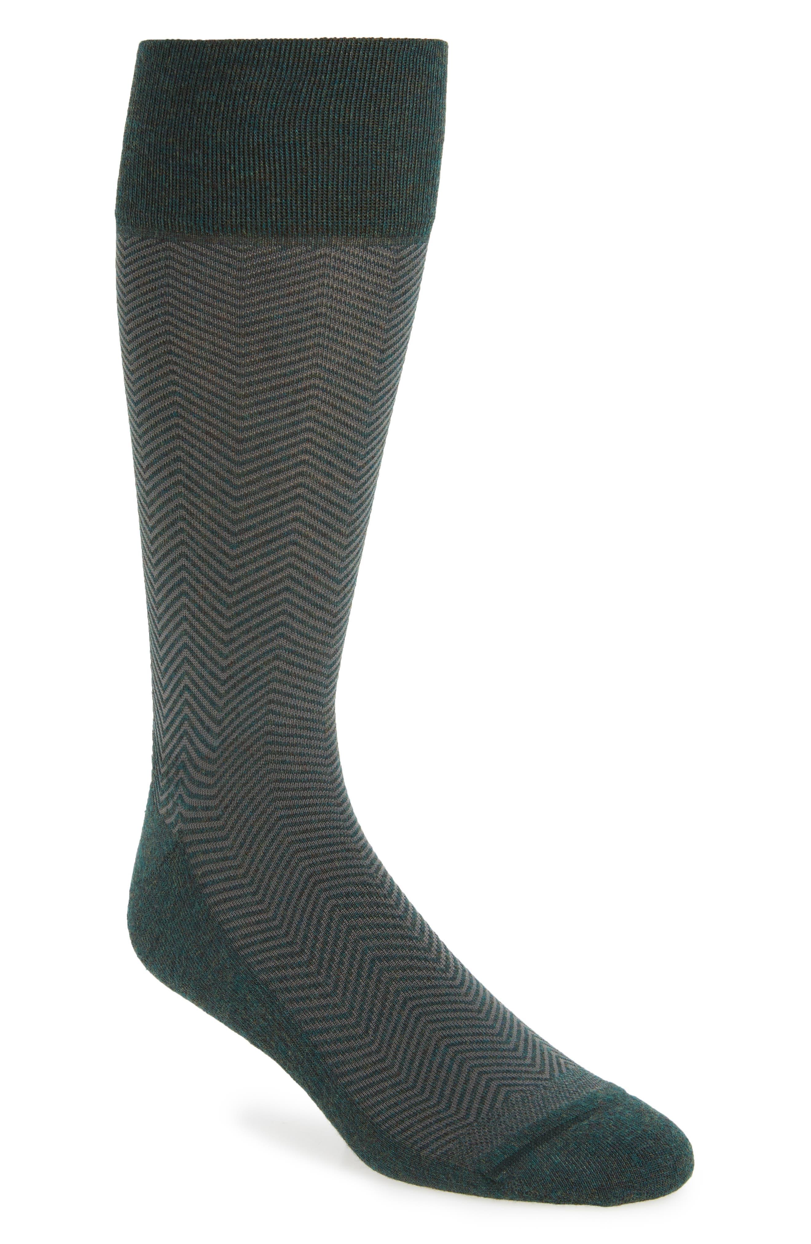 Nordstrom Men's Shop Chevron Socks (3 for $30)