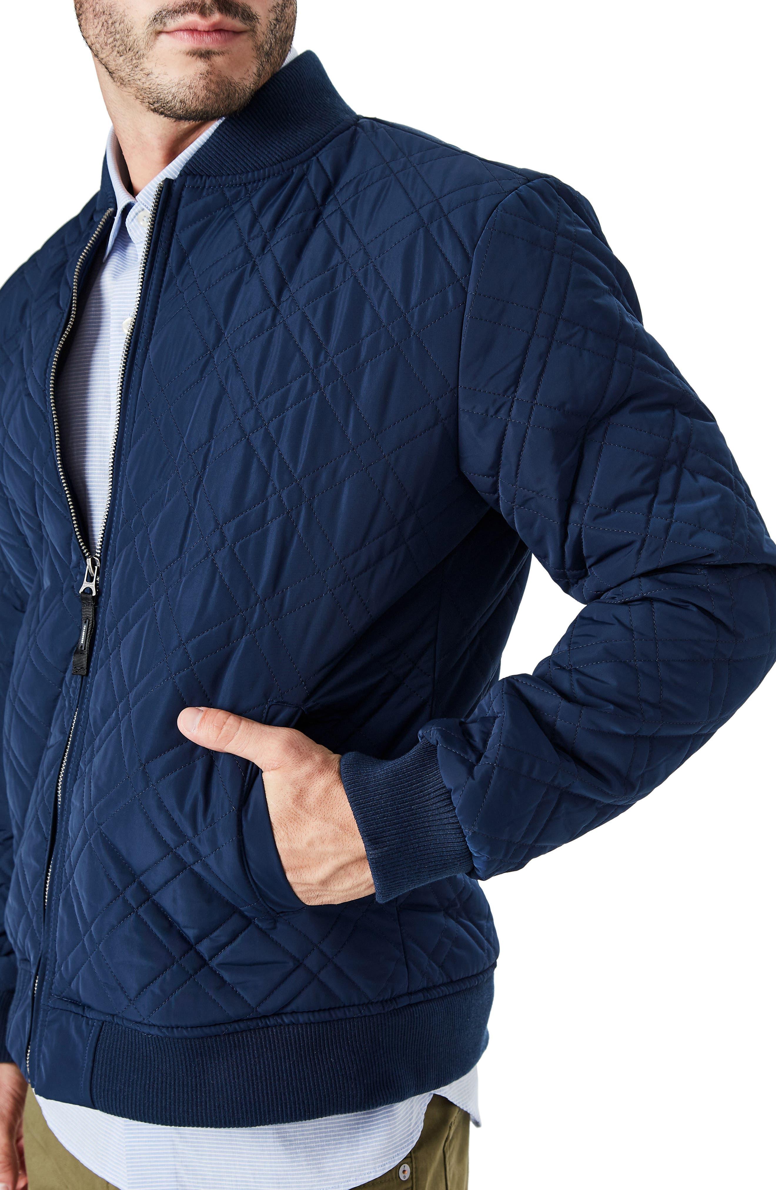 Arca Quilt Jacket,                             Alternate thumbnail 3, color,                             Navy