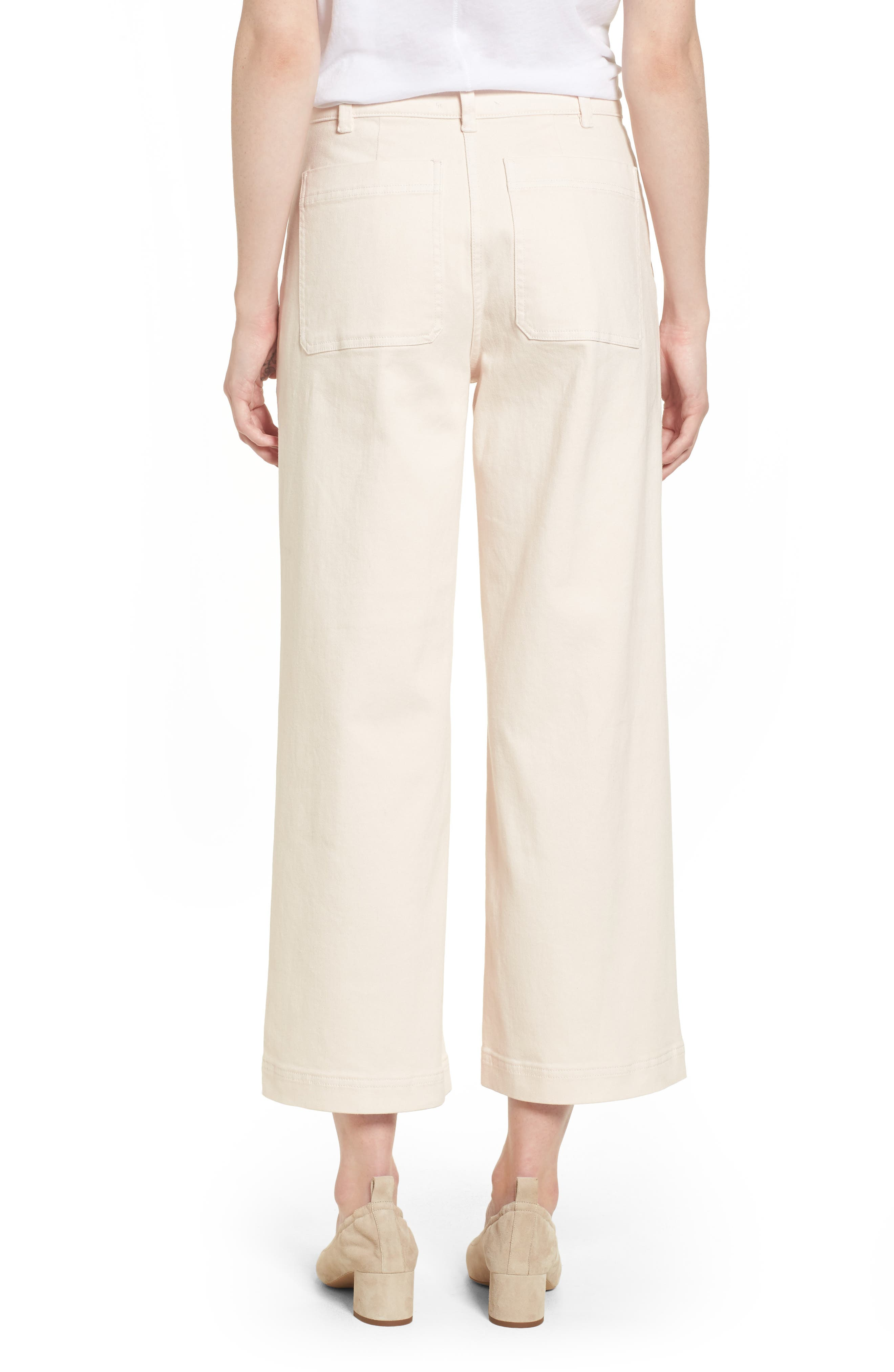 Alternate Image 2  - Everlane The Wide Leg Crop Pants