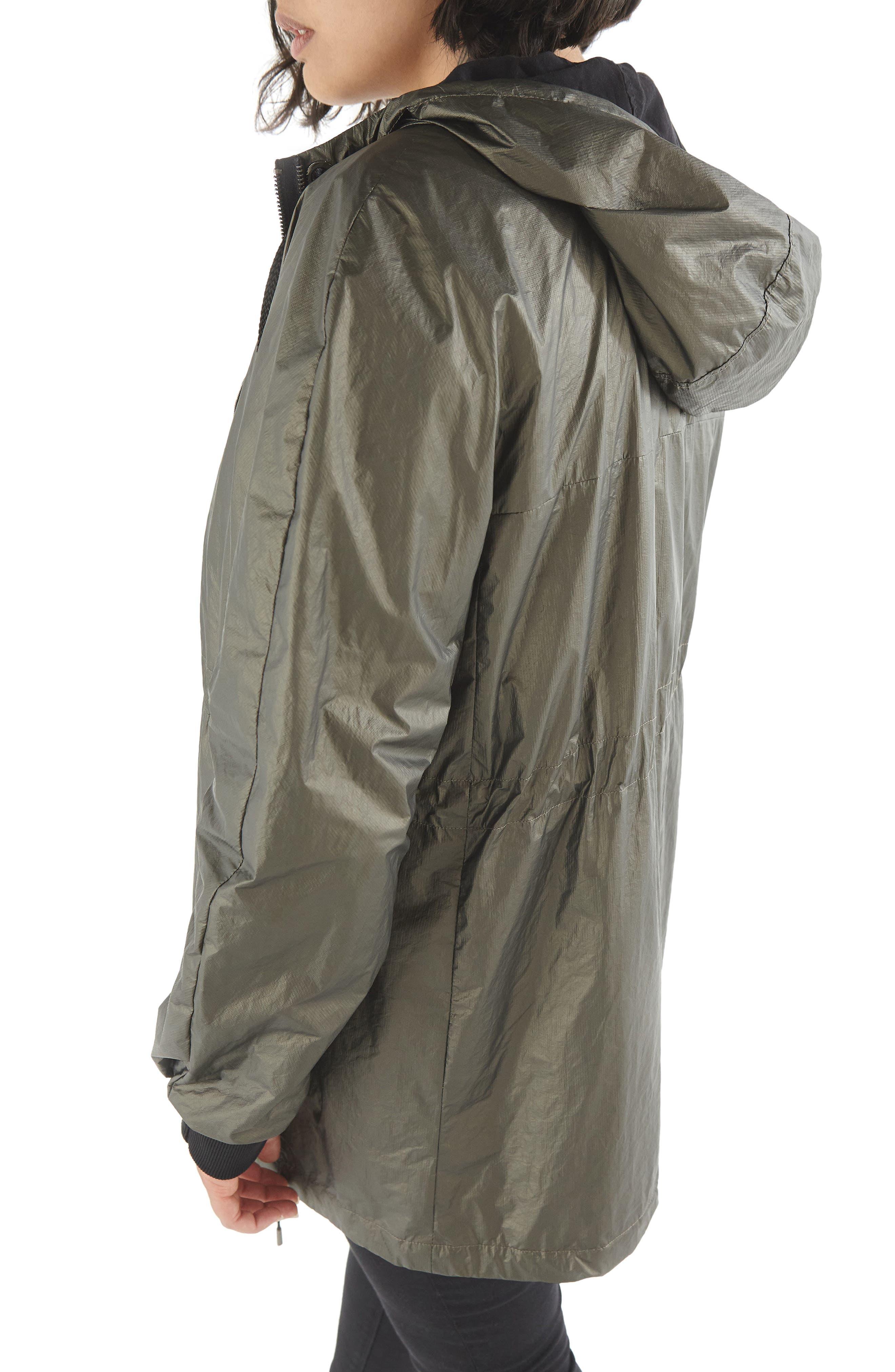 Parka Jacket,                             Alternate thumbnail 2, color,                             Khaki