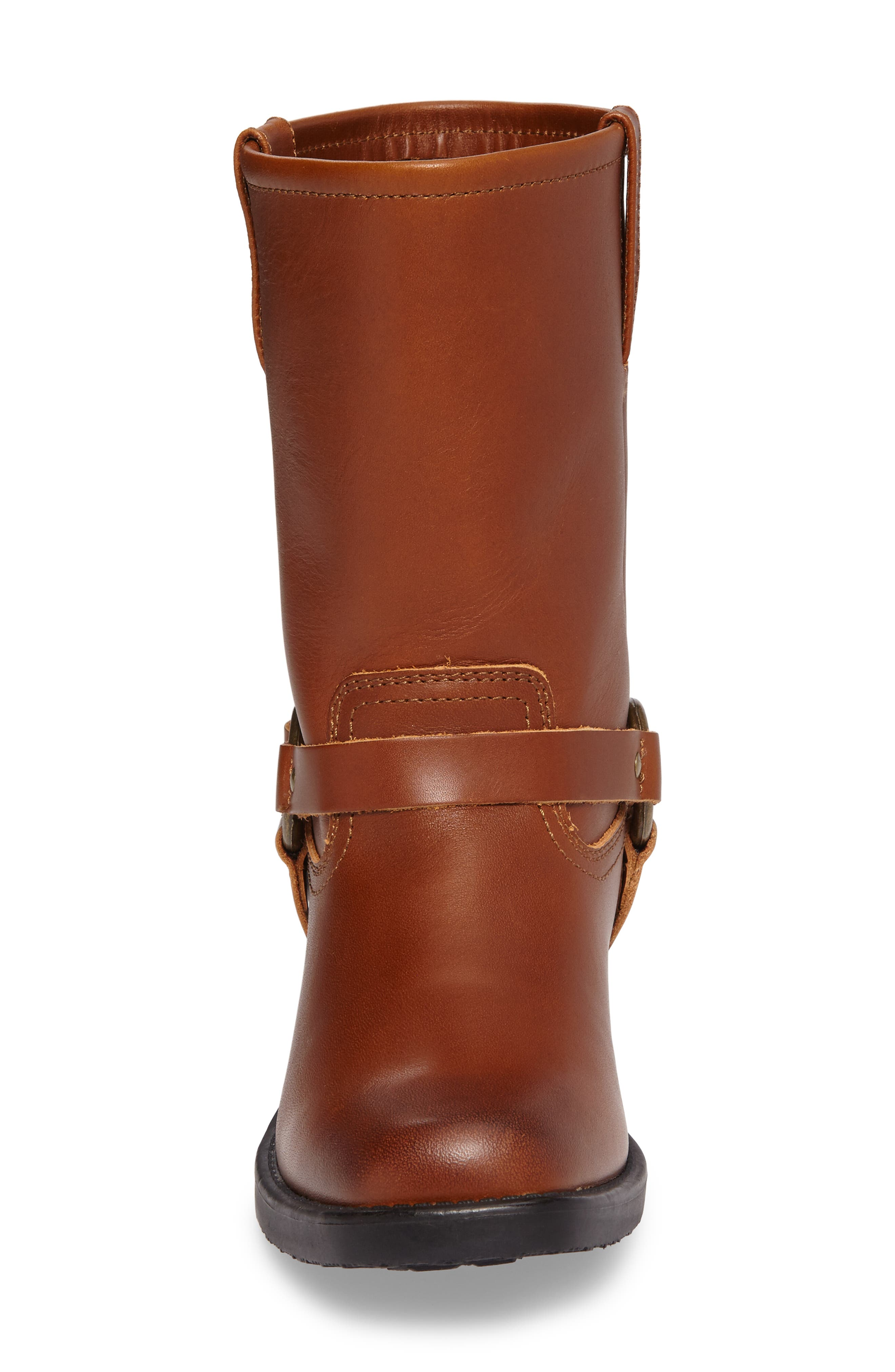 Harness Engineer Boot,                             Alternate thumbnail 4, color,                             Cognac