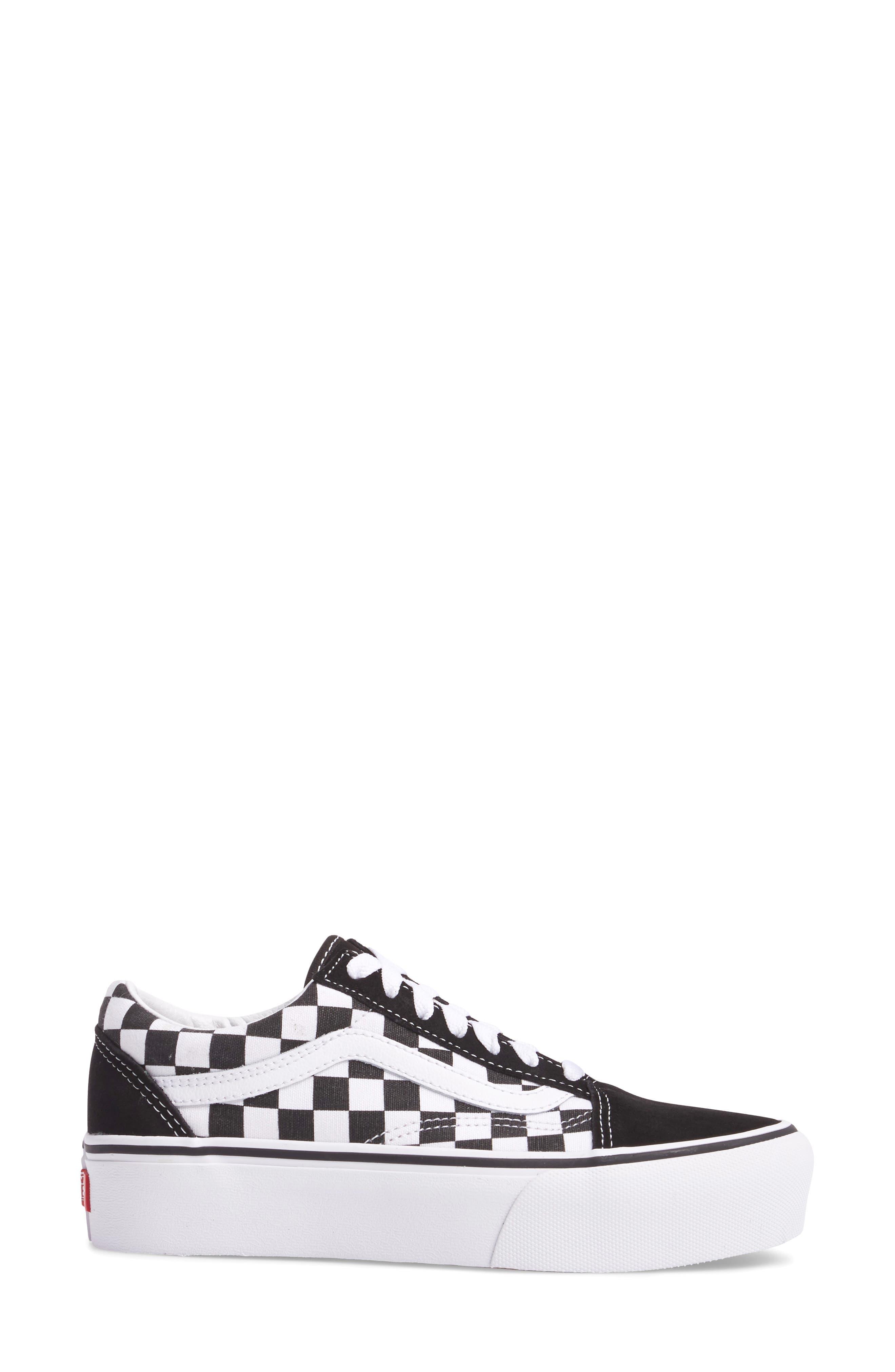 Alternate Image 3  - Vans Old Skool Platform Sneaker (Women)