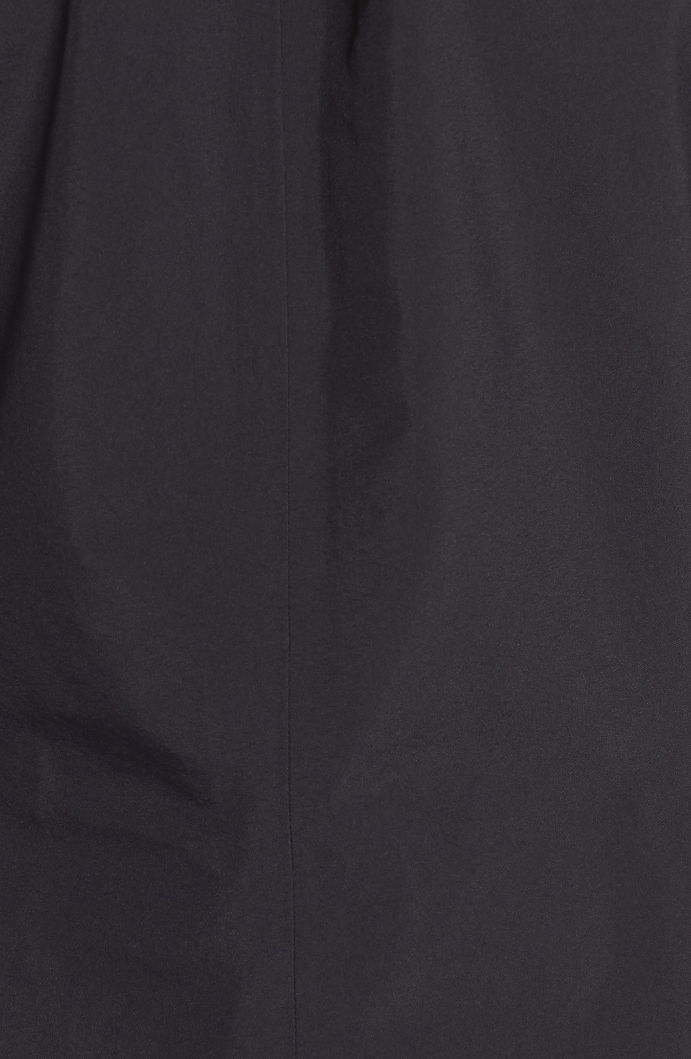 Codetta Waterproof Relaxed Fit Gore-Tex<sup>®</sup> 3L Rain Jacket,                             Alternate thumbnail 6, color,                             Black