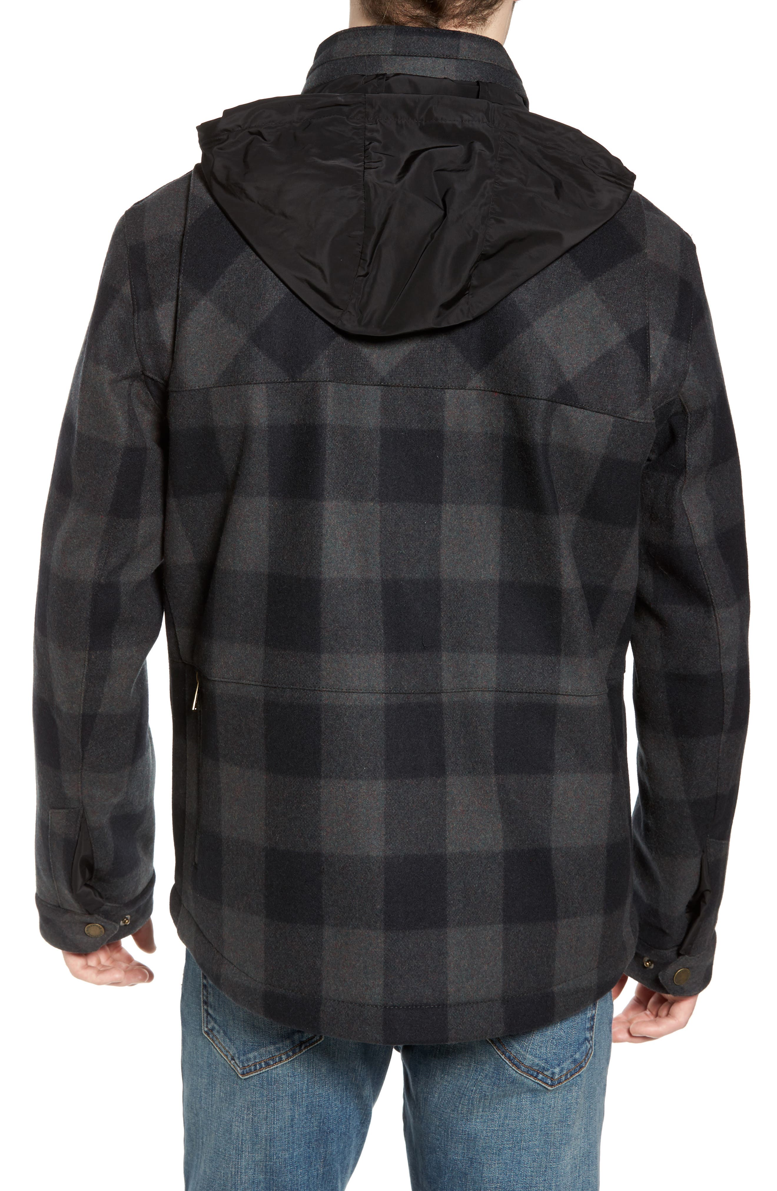 Albuquerque Jacket,                             Alternate thumbnail 2, color,                             Olive Buffalo Plaid