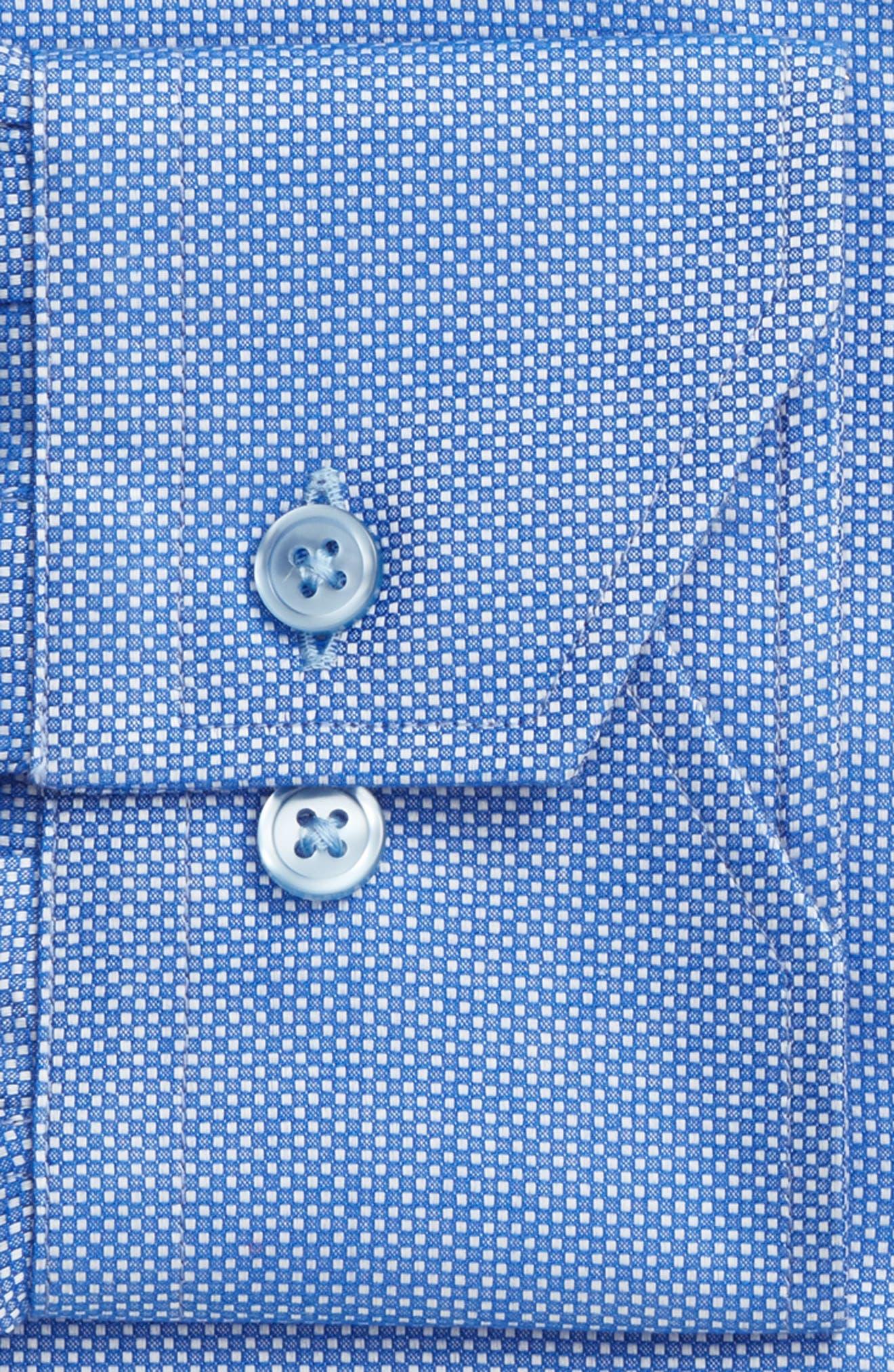 Alternate Image 4  - Lorenzo Uomo Trim Fit Textured Dress Shirt