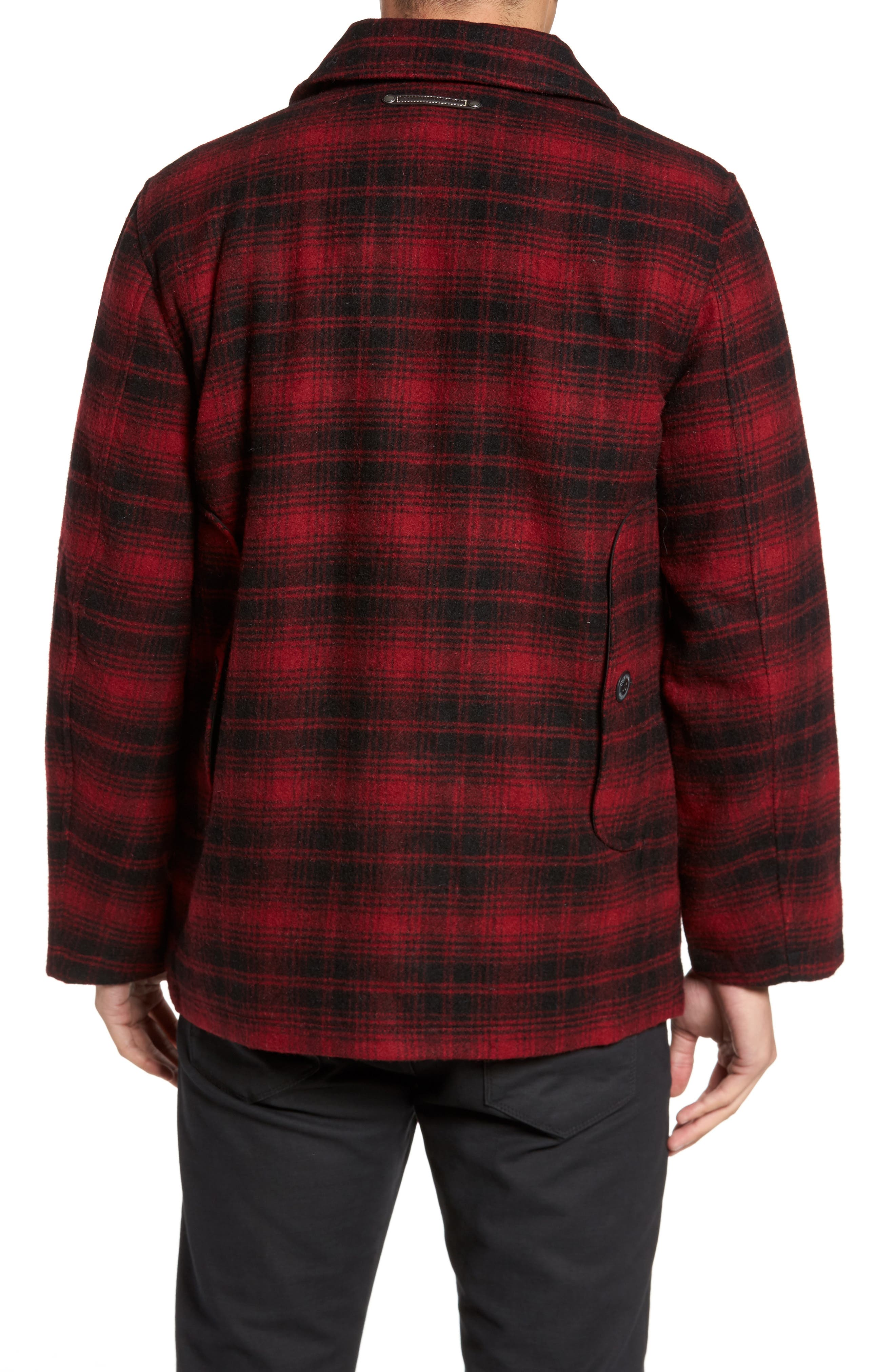 Alternate Image 2  - Cole Haan Hunter Jack Wool Blend Shirt Jacket