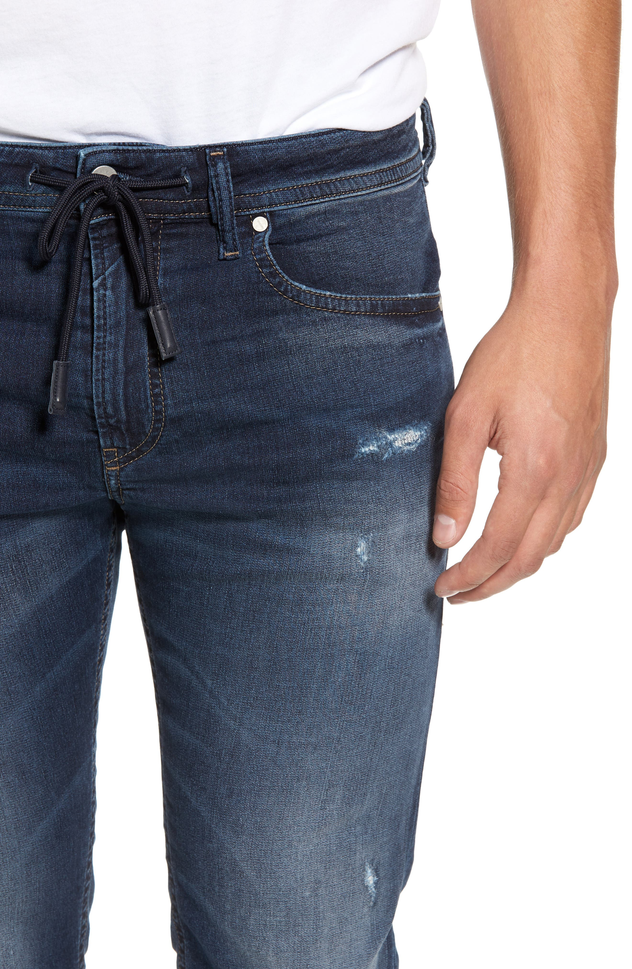Thommer Slim Fit Jeans,                             Alternate thumbnail 4, color,                             0686W