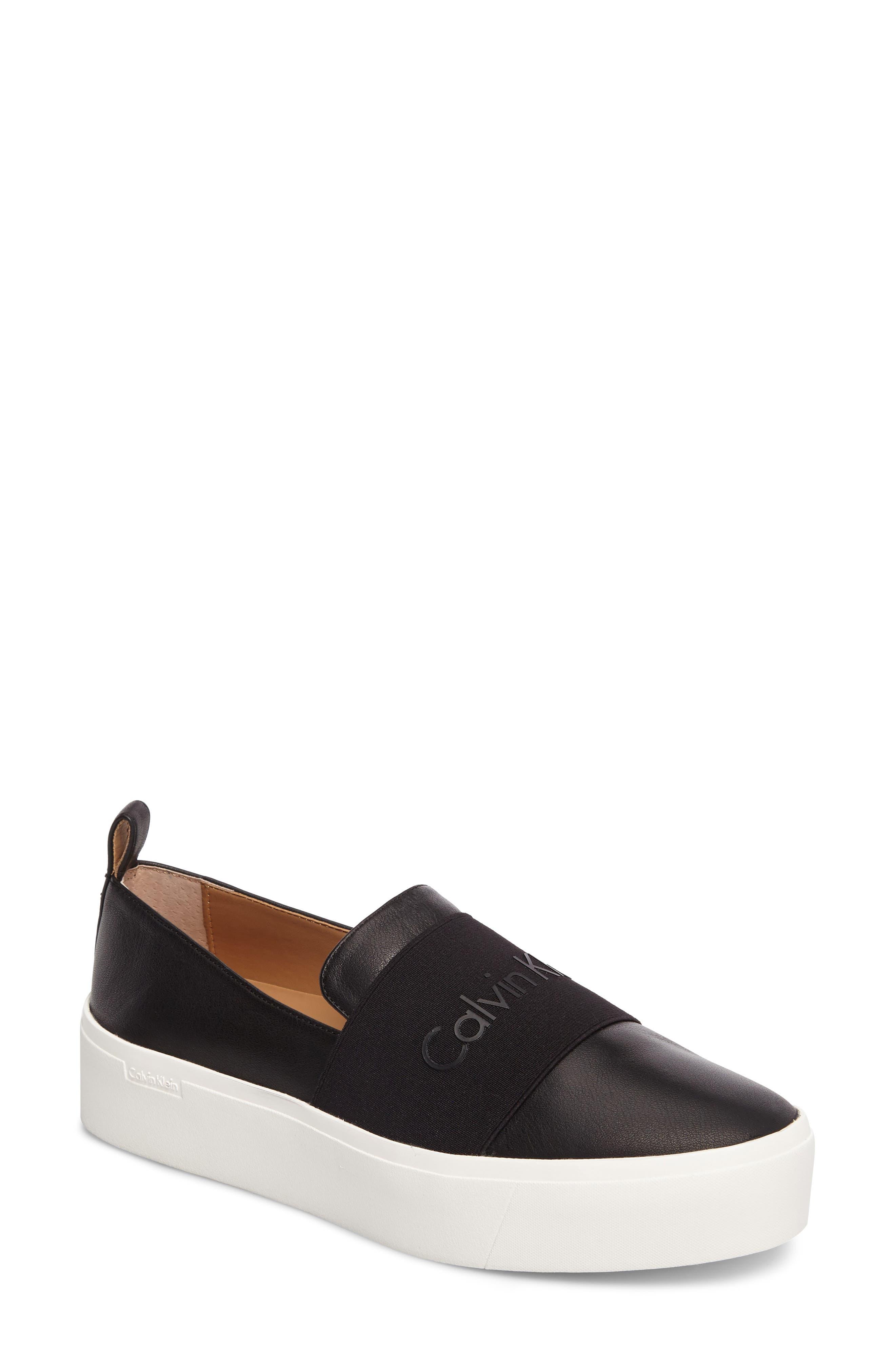 Main Image - Calvin Klein Jacinta Platform Sneaker (Women)