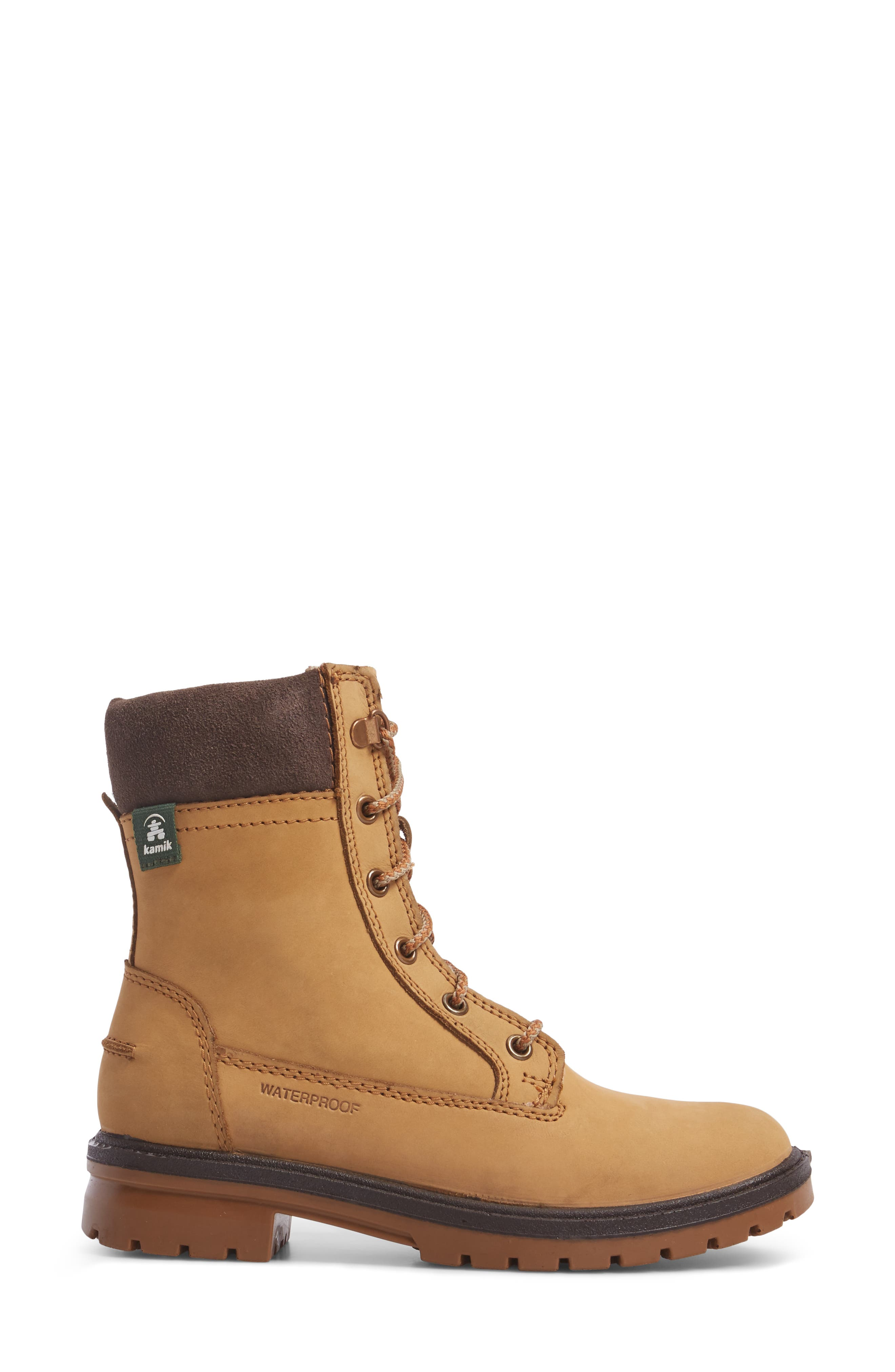 Rogue 5 Waterproof Boot,                             Alternate thumbnail 3, color,                             Honey Leather