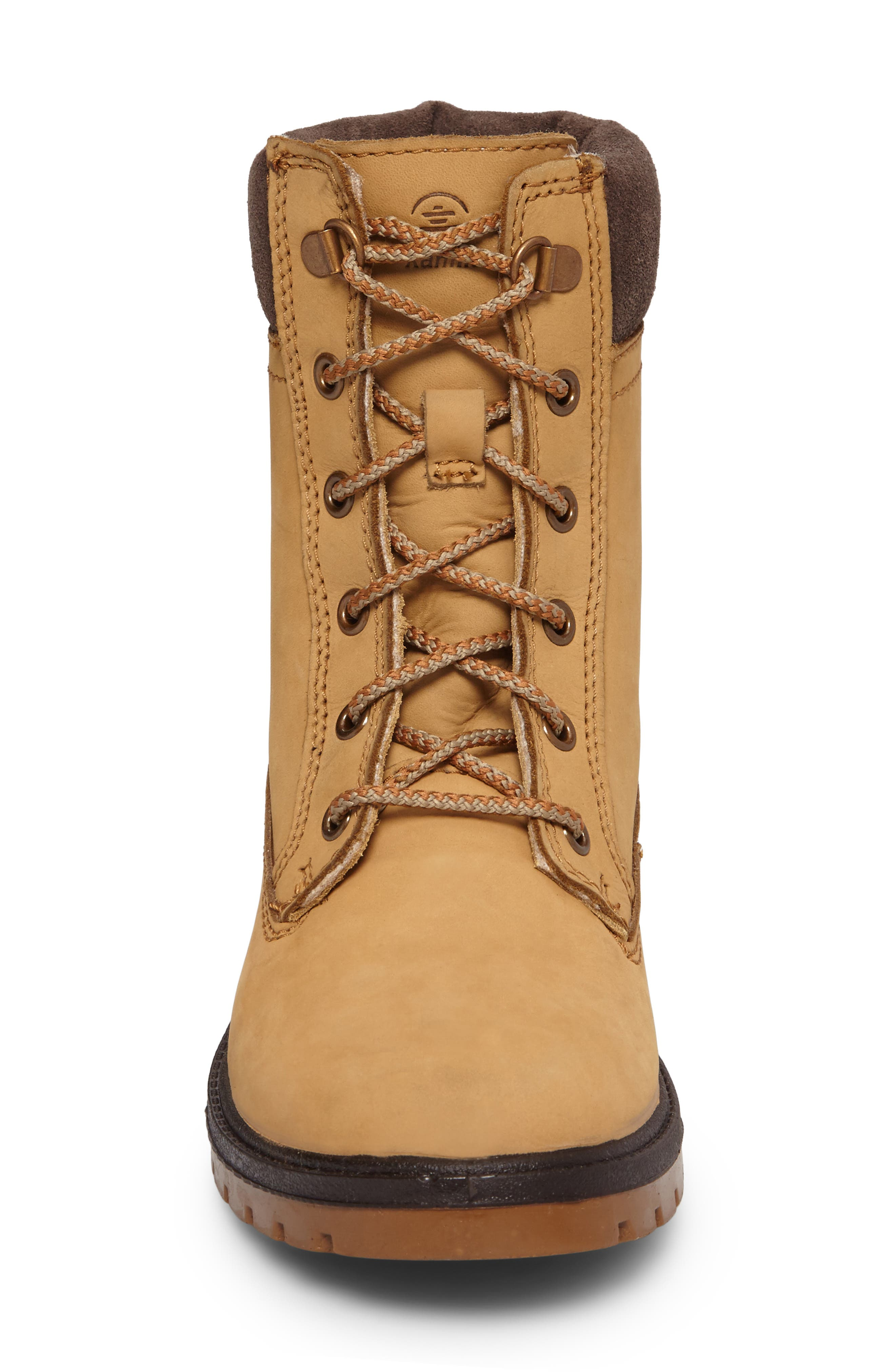 Rogue 5 Waterproof Boot,                             Alternate thumbnail 4, color,                             Honey Leather