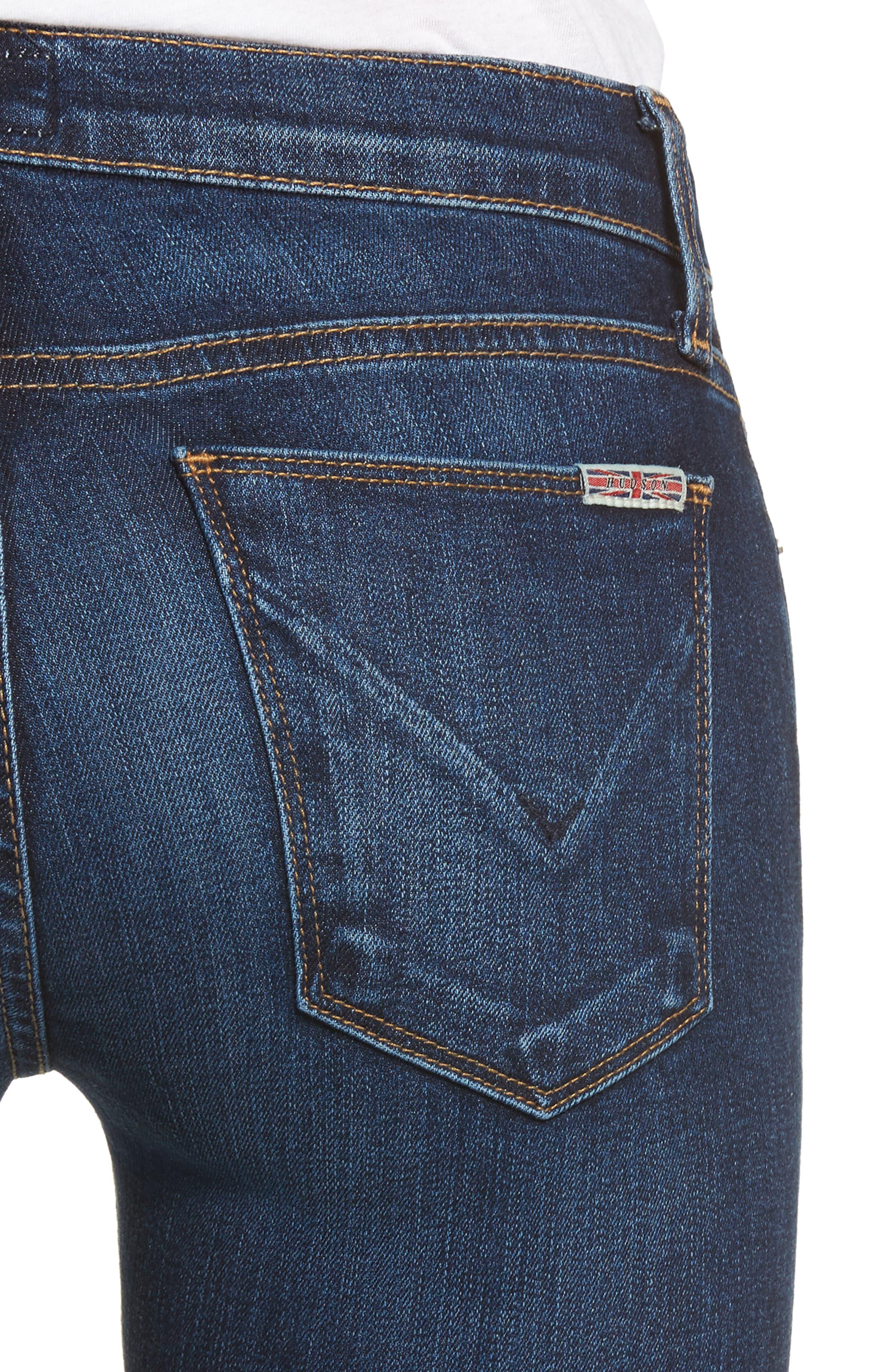 Alternate Image 4  - Hudson Jeans 'Krista' Super Skinny Jeans